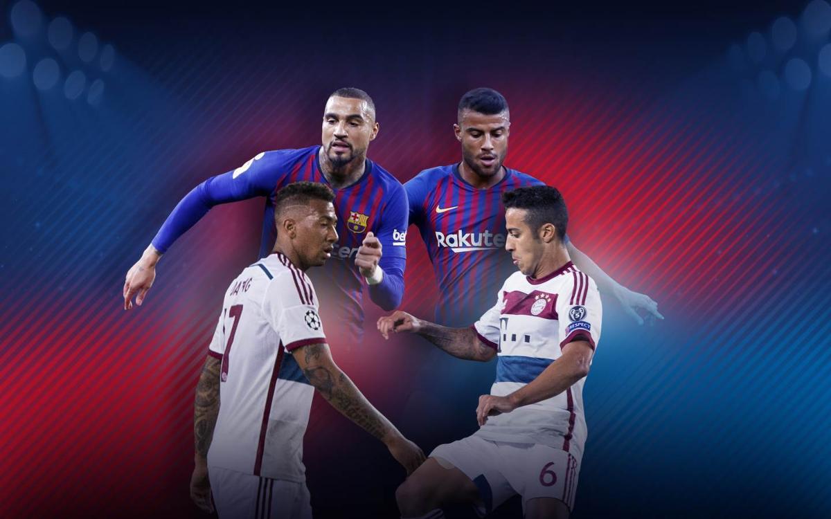 Barça and Bayern: Family ties