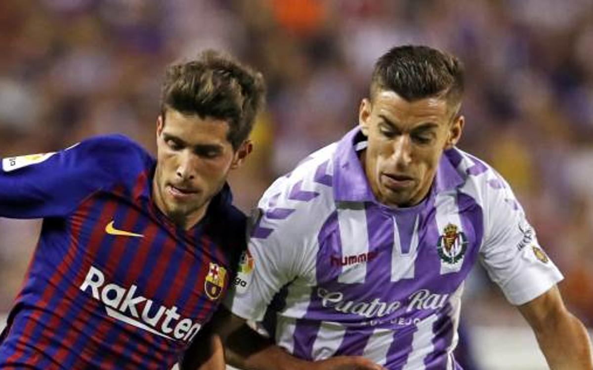 Kick off time confirmed for FC Barcelona v Valladolid
