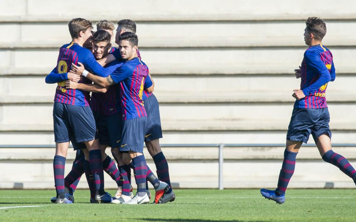 Stadium Casablanca – Juvenil A: Victòria treballada a domicili (0-2)