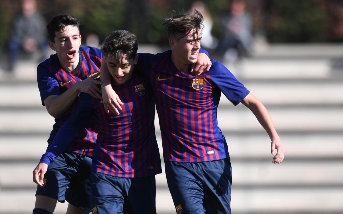 Juvenil B - Sant Andreu: Goleada para seguir sumando (6-1)