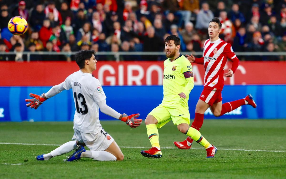 Messi has scored in 36 La Liga grounds
