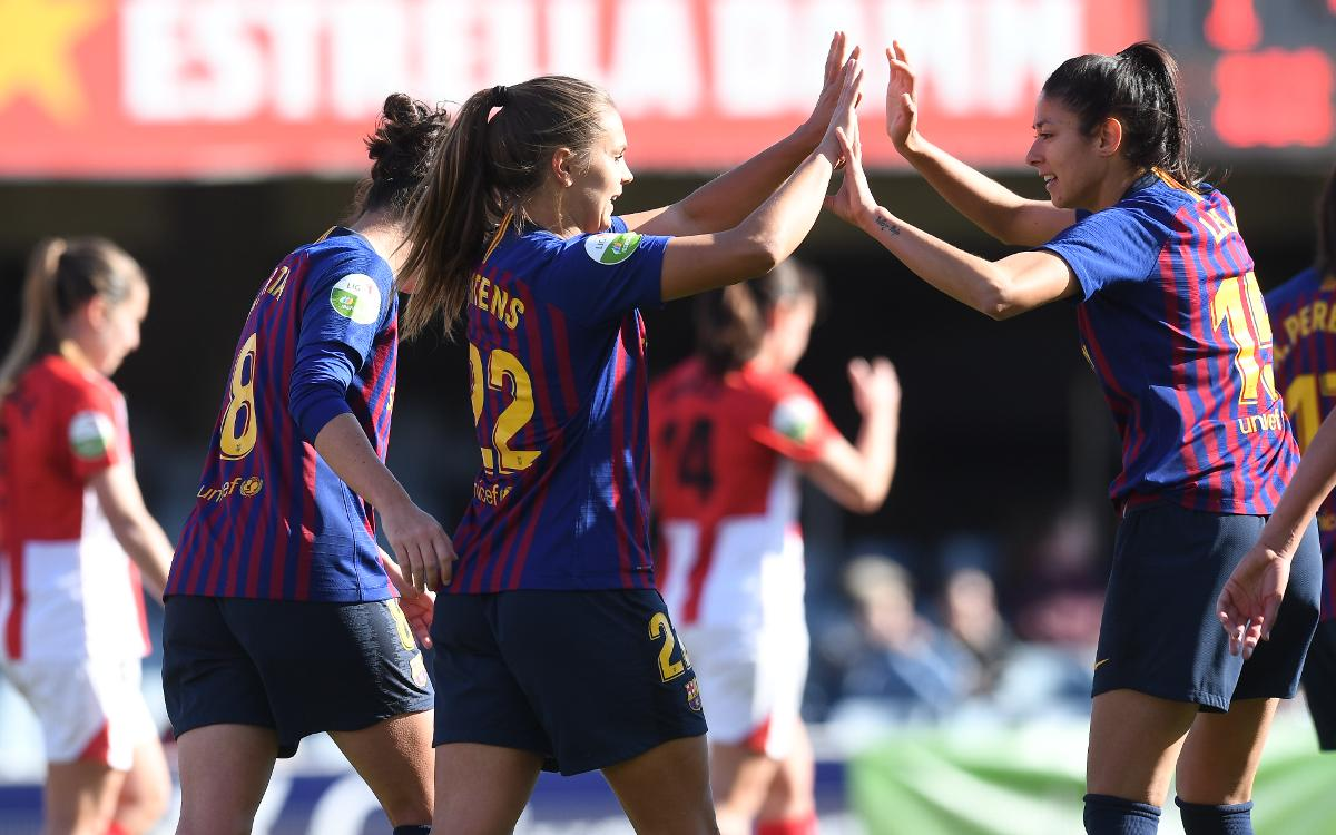 Madrid CFF – Barça Femení (prèvia): A per l'onzena semi de Copa seguida