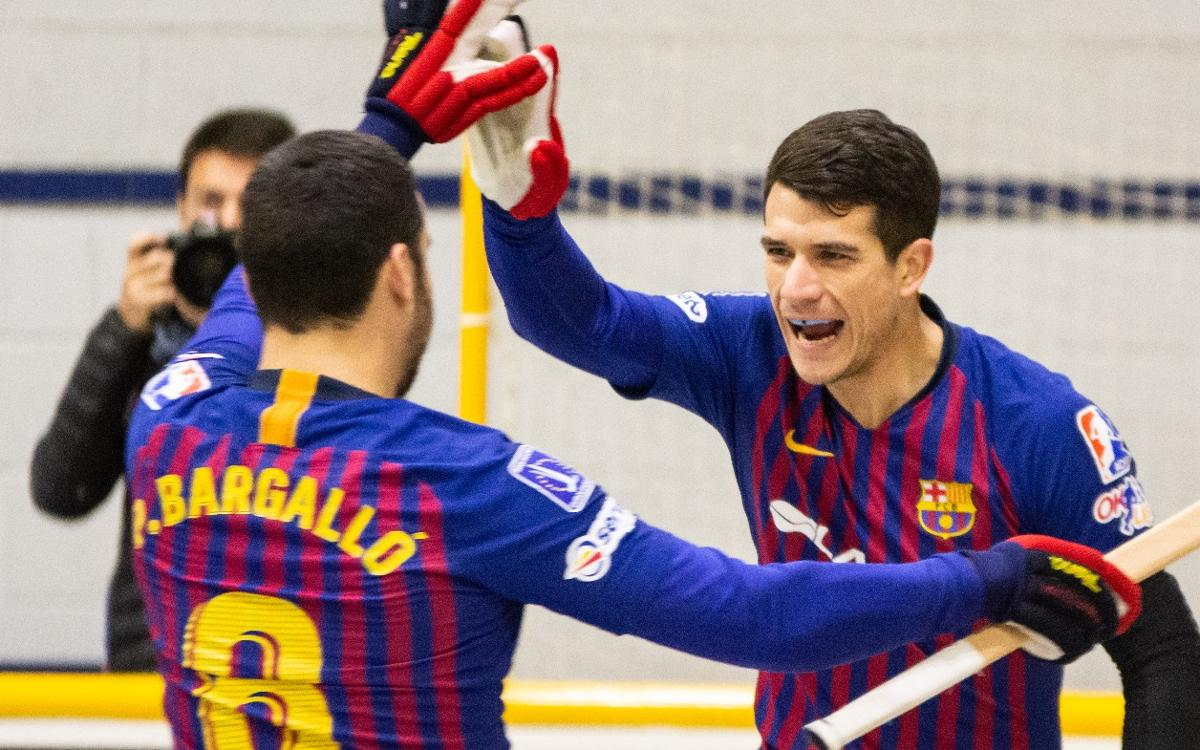 Caldes - Barça Lassa: Triunfo trabajado en una pista complicada (0-4)