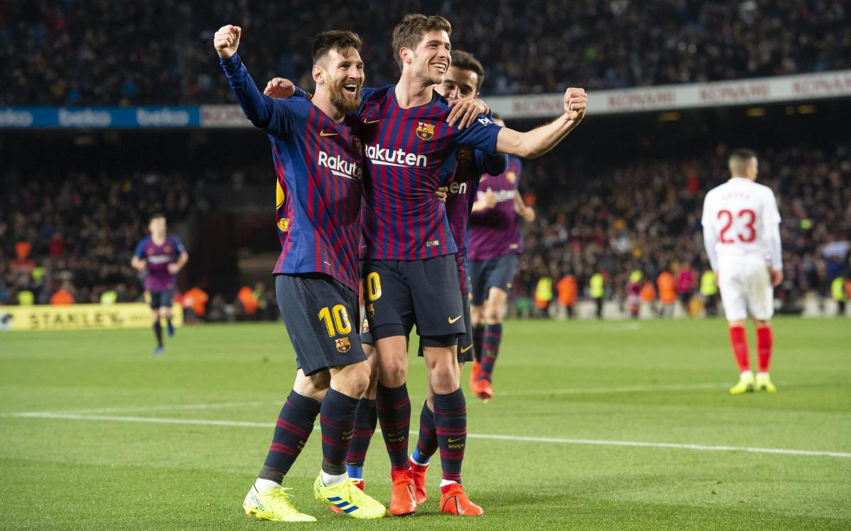 Barça 6 – 1 Sevilla: What a Cup-back!