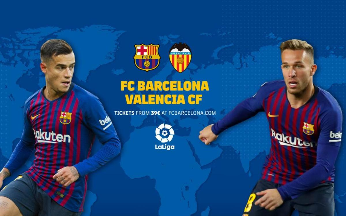 When and where to see Barça v Valencia