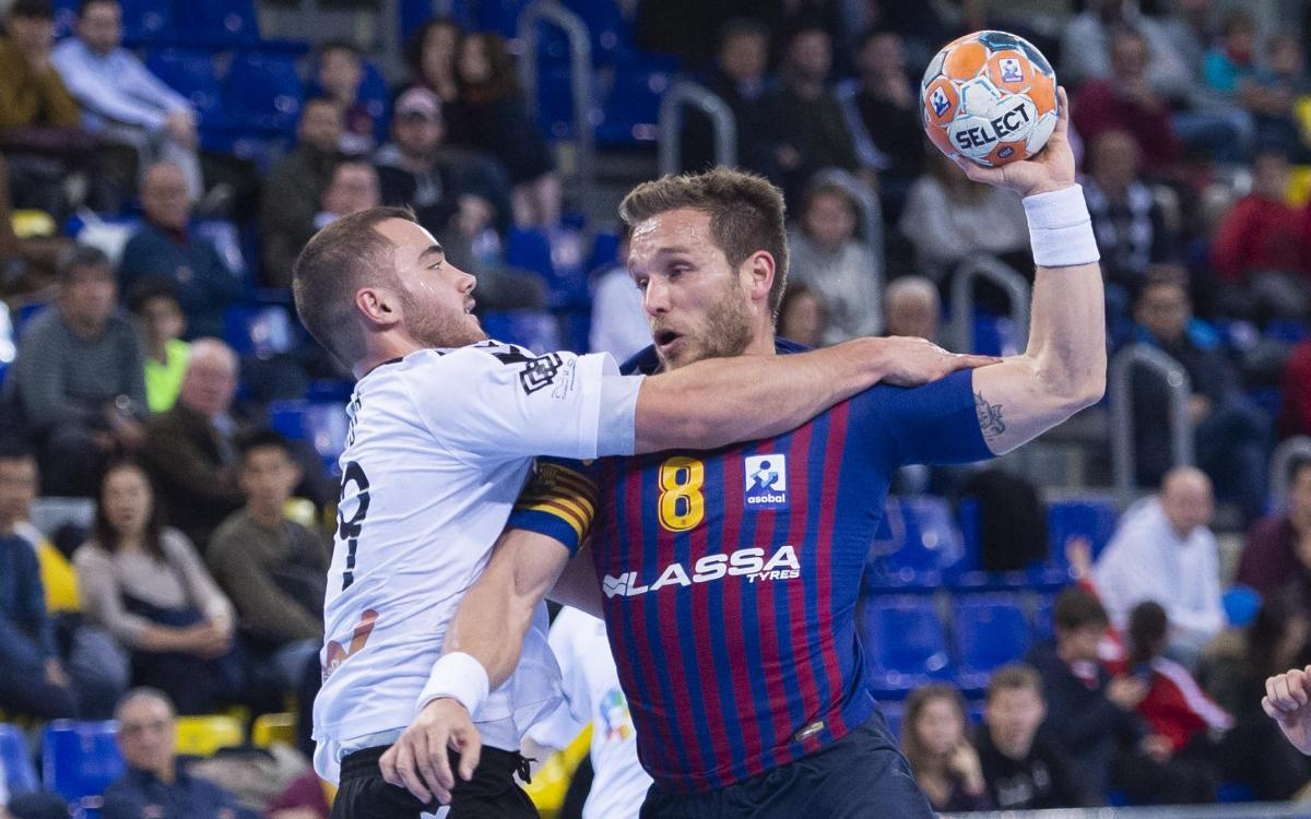 Barça Lassa 38 Alcobendas 22: Return to winning ways
