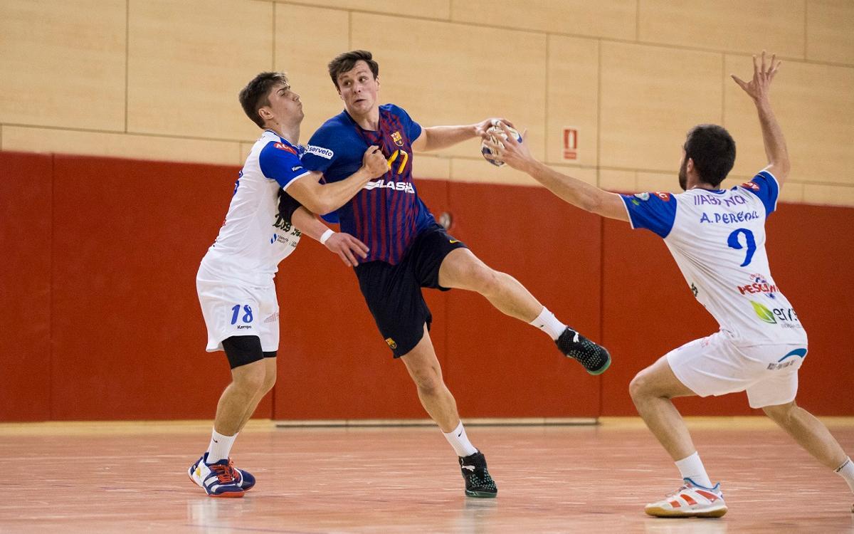Barça Lassa B – Club Cisne Colegio Los Sauces (36-29): Triomf complet