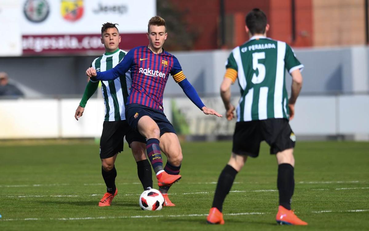 El Peralada i la tramuntana derroten el Barça B (2-0)
