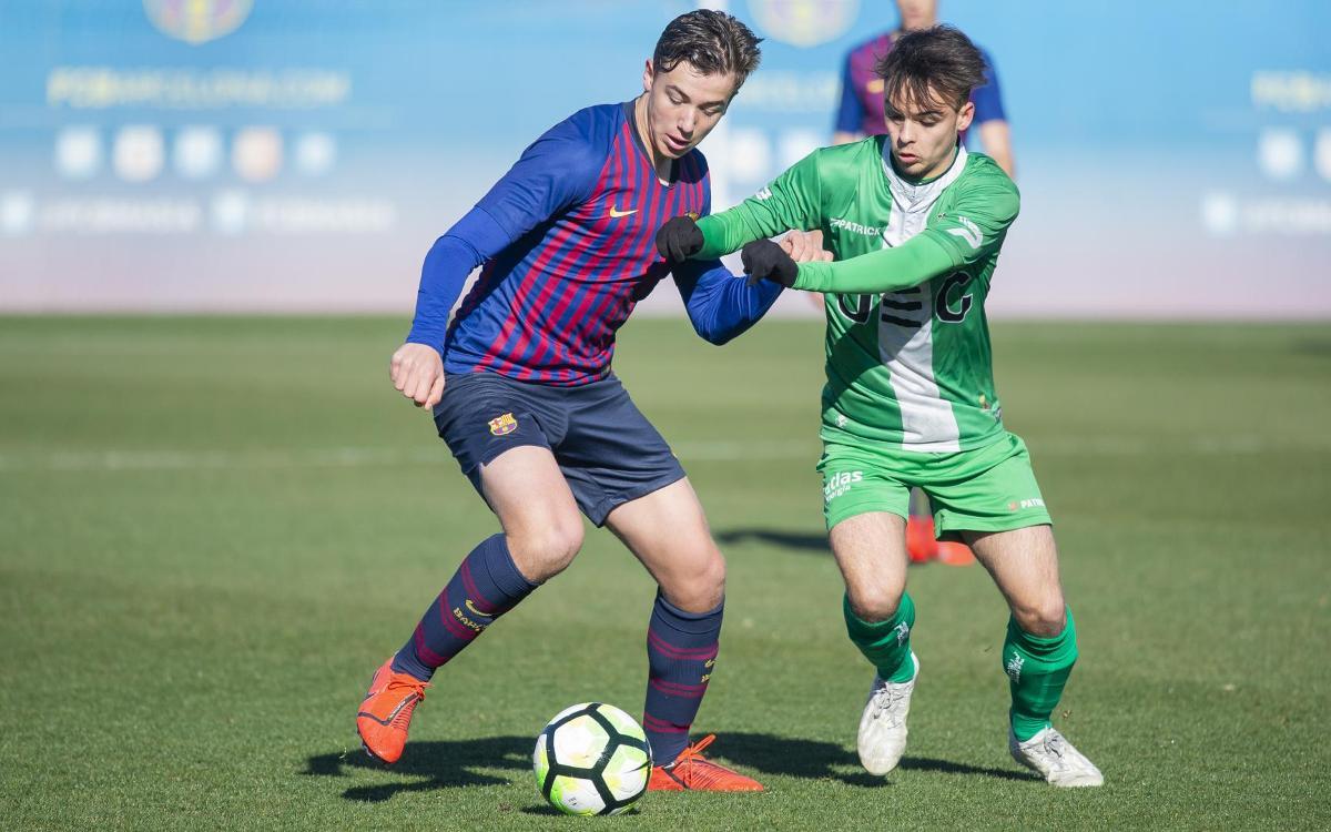 Juvenil A - UE Cornellà: frenados por la telaraña defensiva (1-2)