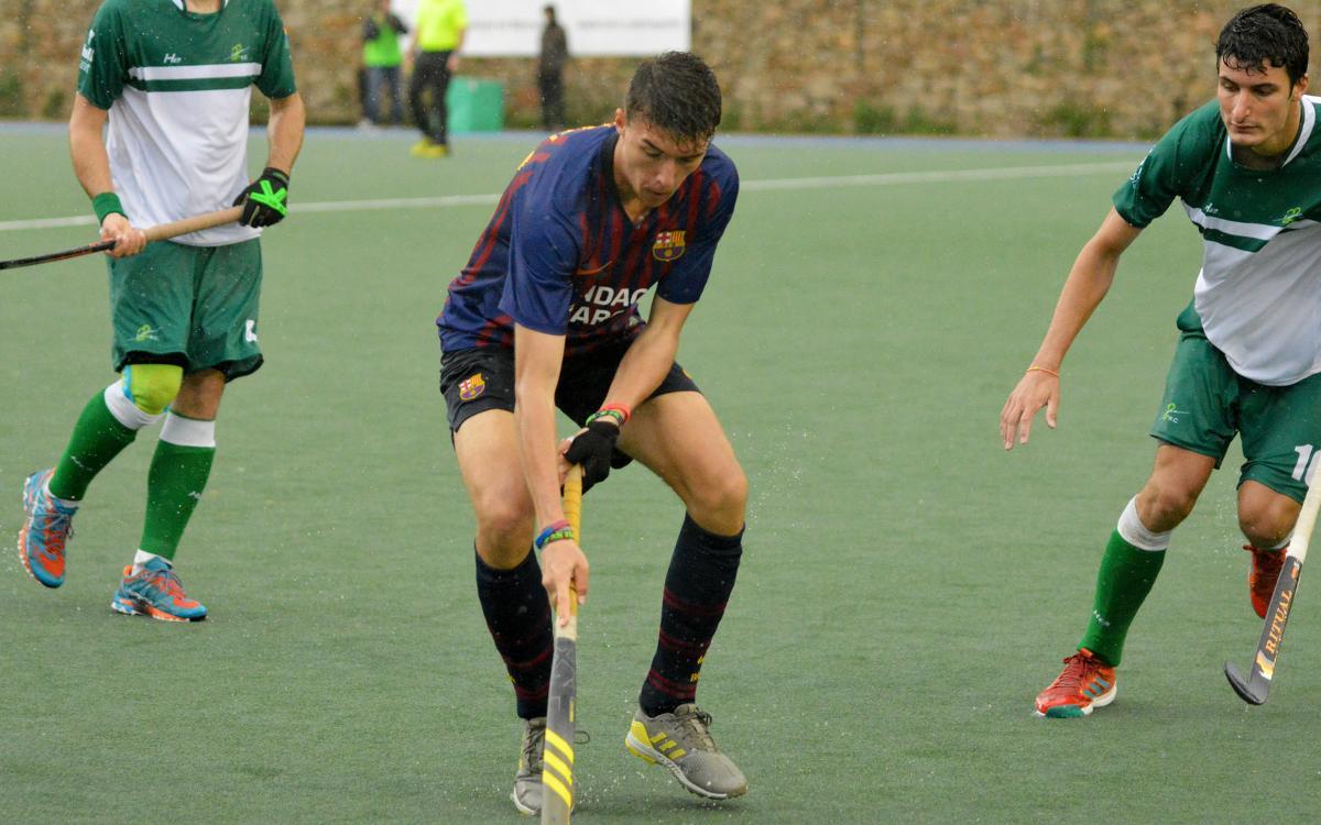 El Barça guanya al Club de Campo i escala fins a la setena posició (3-2)
