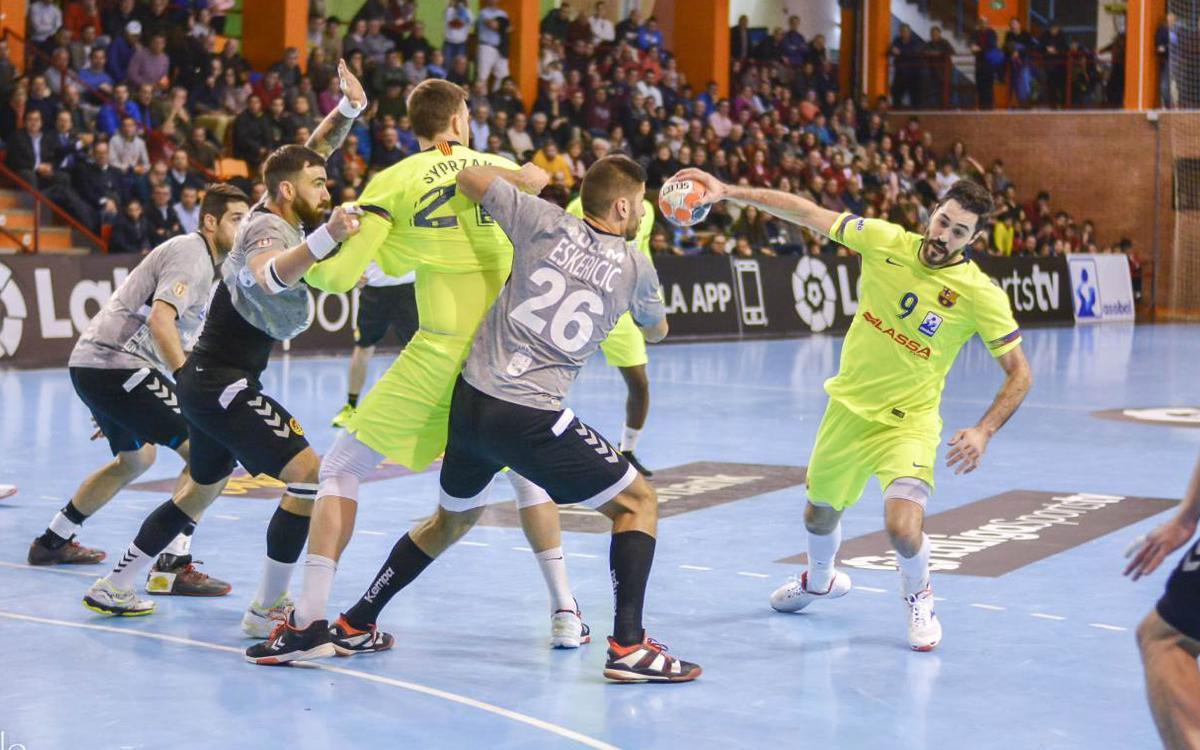 Liberbank Cuenca – Barça Lassa: Triunfo serio en una pista difícil (20-35)