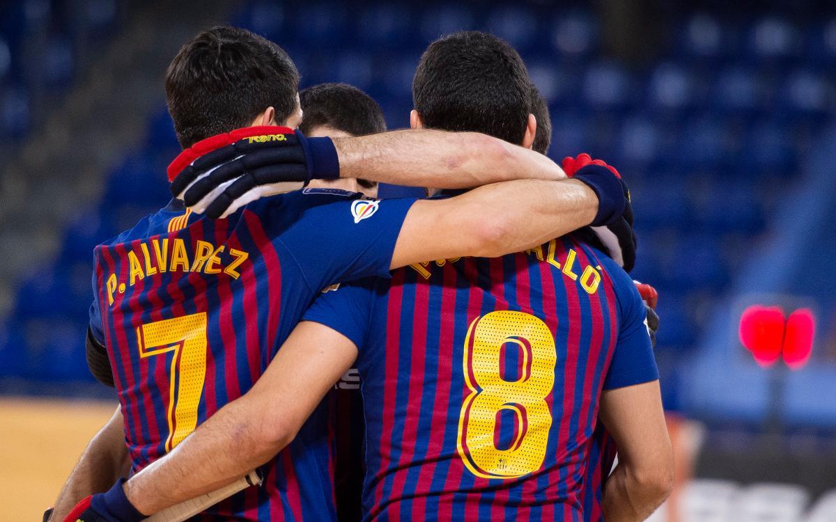 Barça Lassa - CE Vendrell: Un líder amb bon compàs (4-0)
