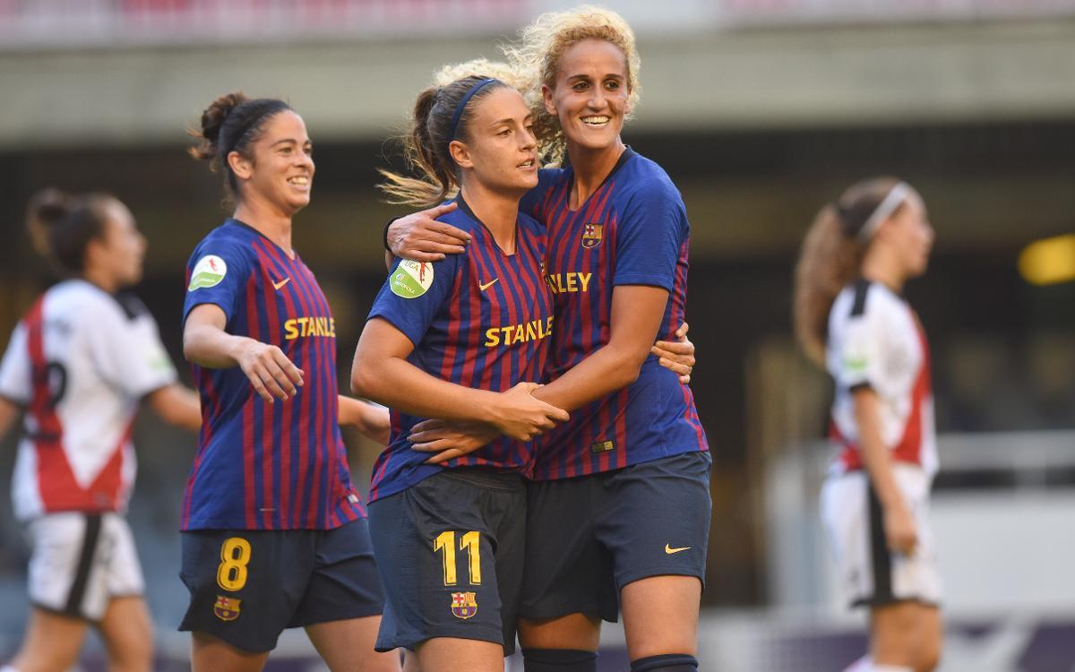 Rayo Vallecano - FC Barcelona Femenino (previa): Desplazamiento incómodo