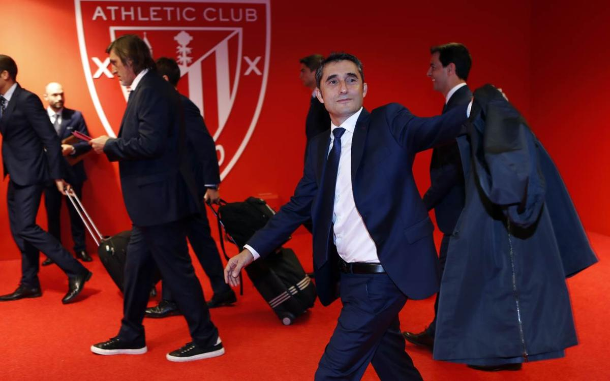 Valverde returns to San Mamés