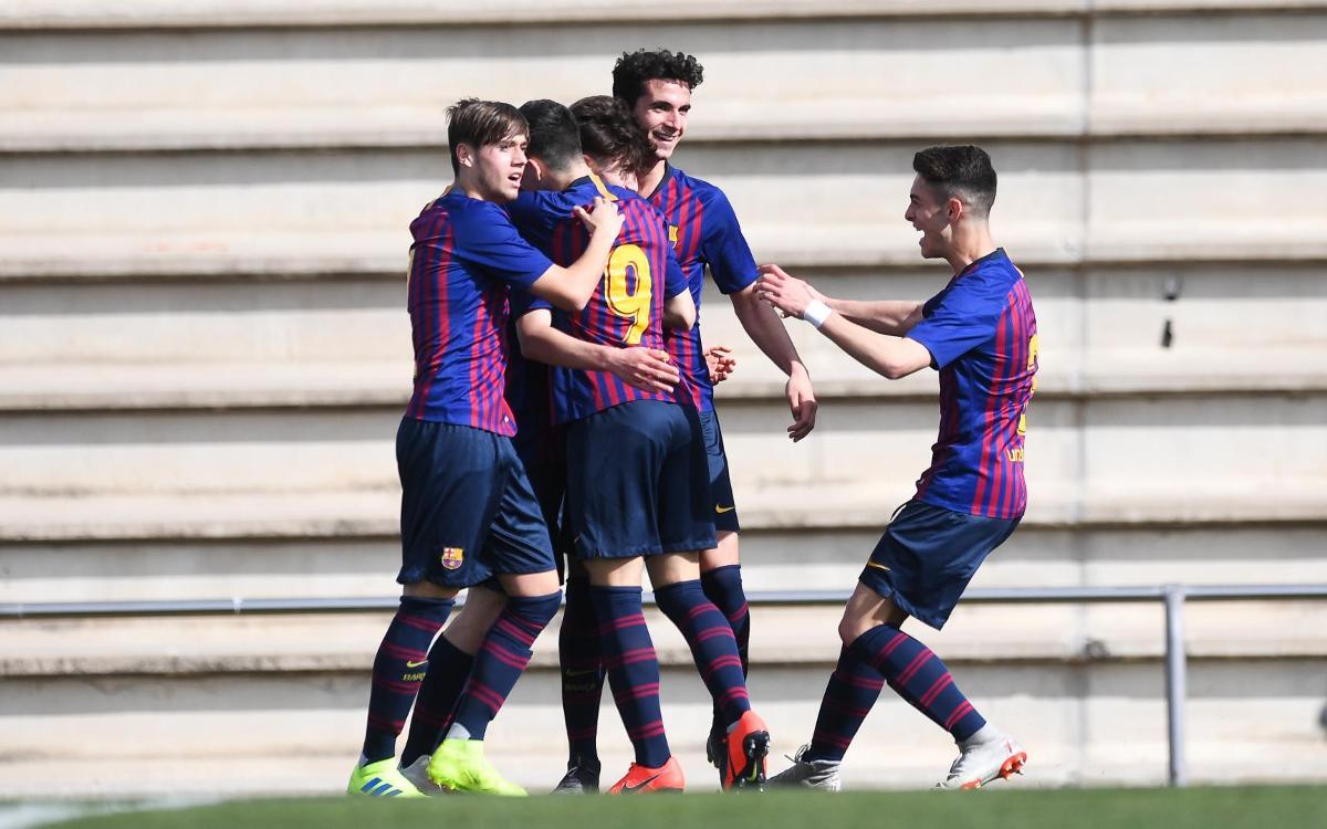 Juvenil B - Atlético Segre: Tres puntos vitales (3-0)