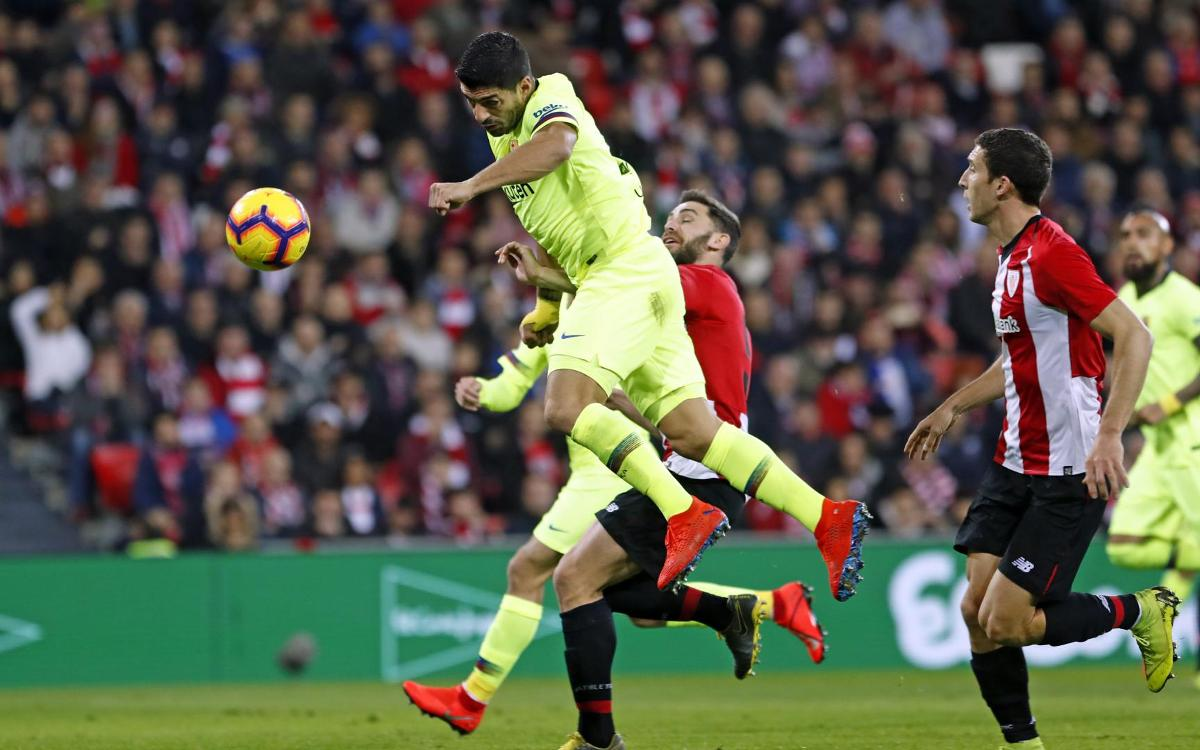 Athletic Club 0-0 Barça: Six points clear