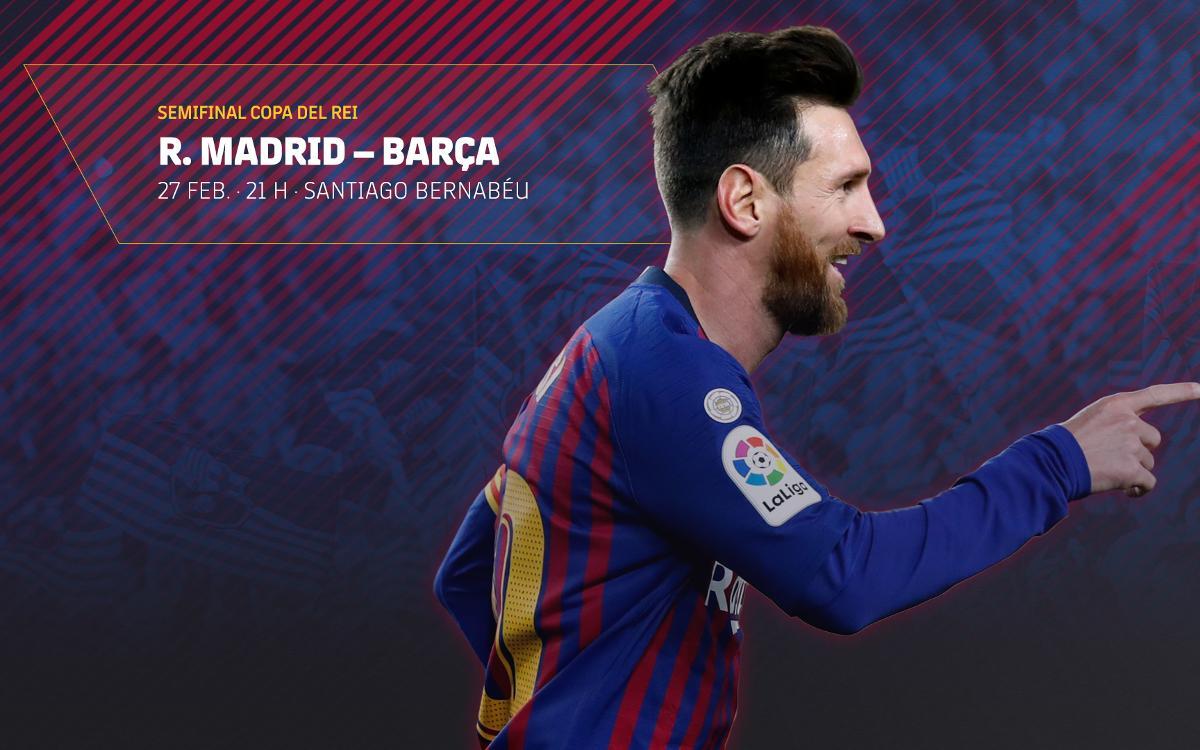 Venda d'entrades per al partit de Copa a Madrid