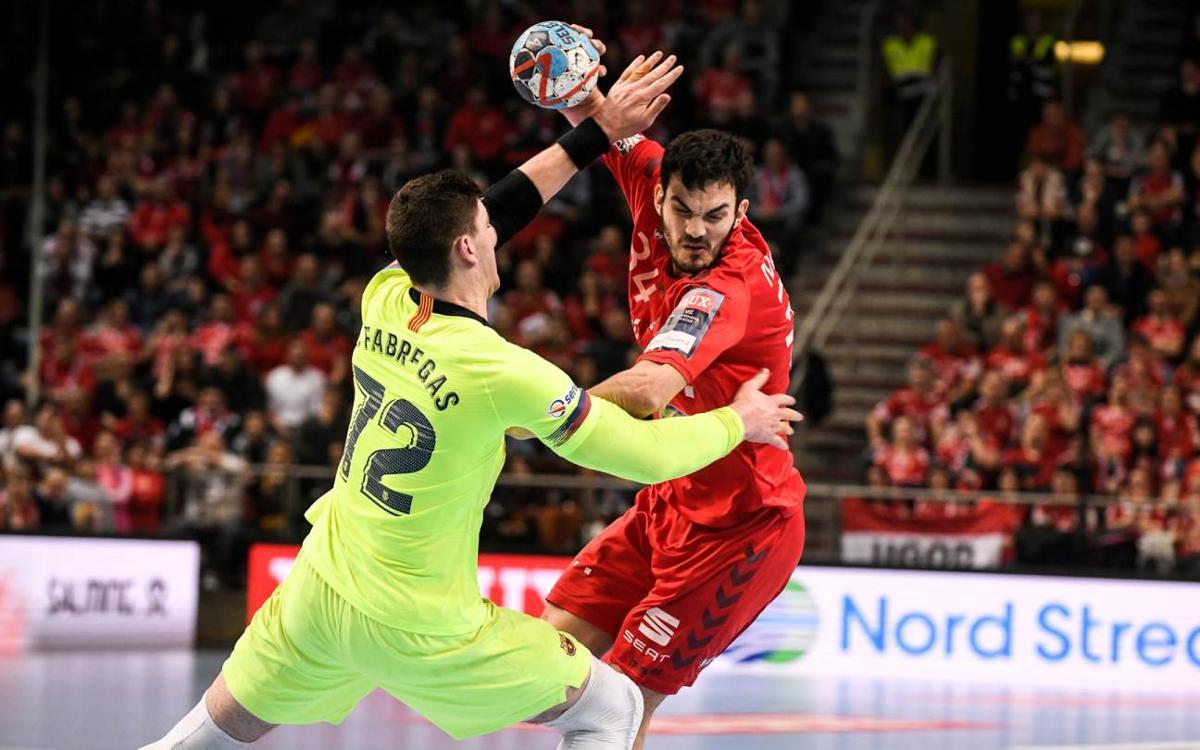 Veszprém - Barça Lassa: Superados en el tramo final (29-26)