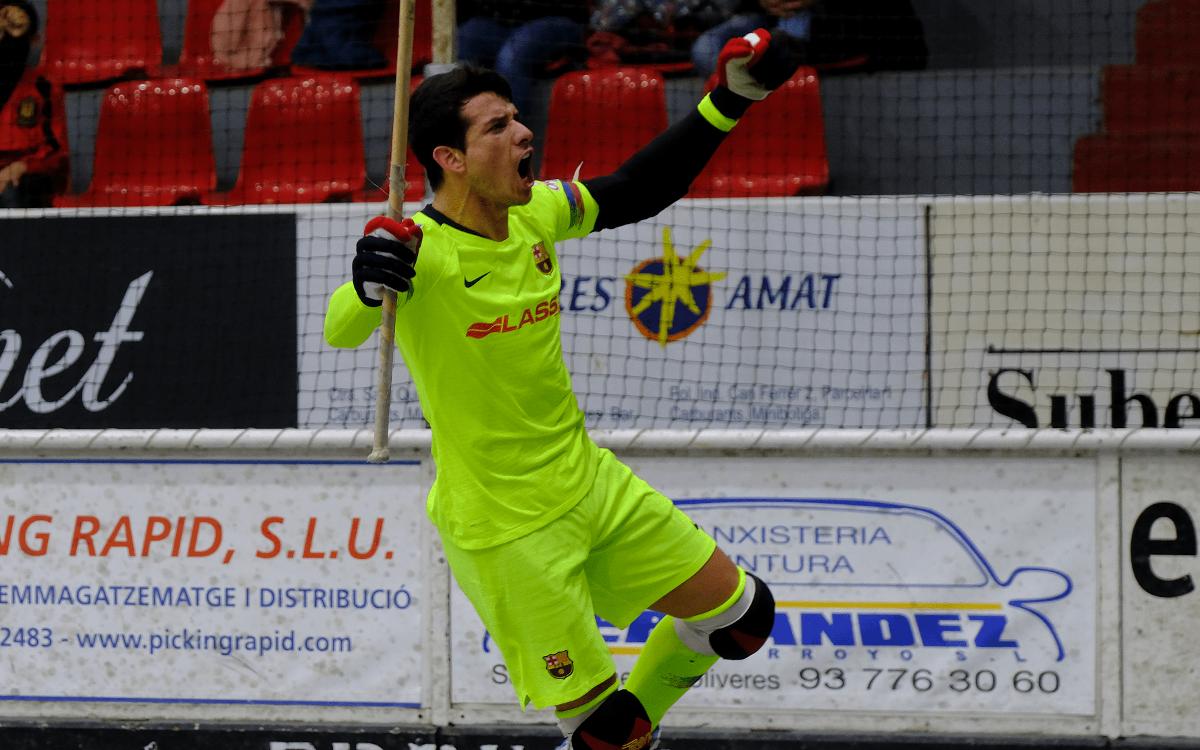 Noia Freixenet – Barça Lassa: Repartiment de punts (2-2)