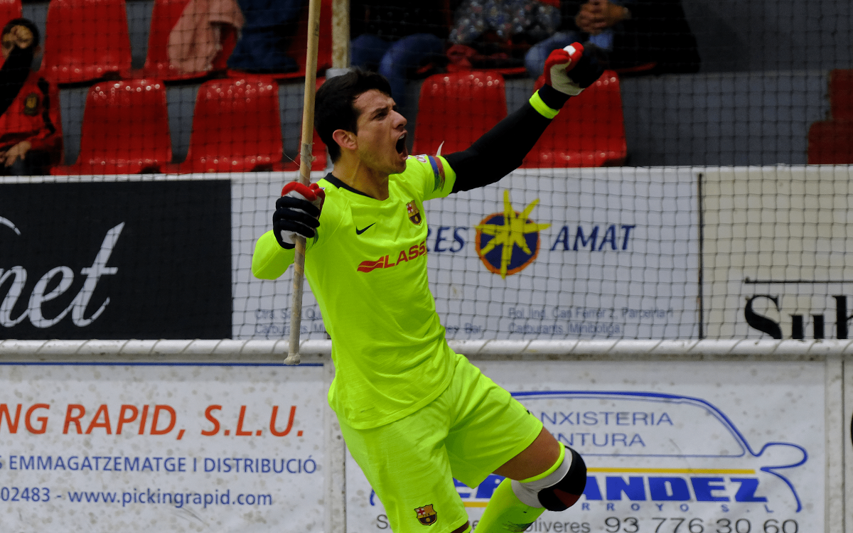 Noia Freixenet - Barça Lassa: Reparto de puntos (2-2)