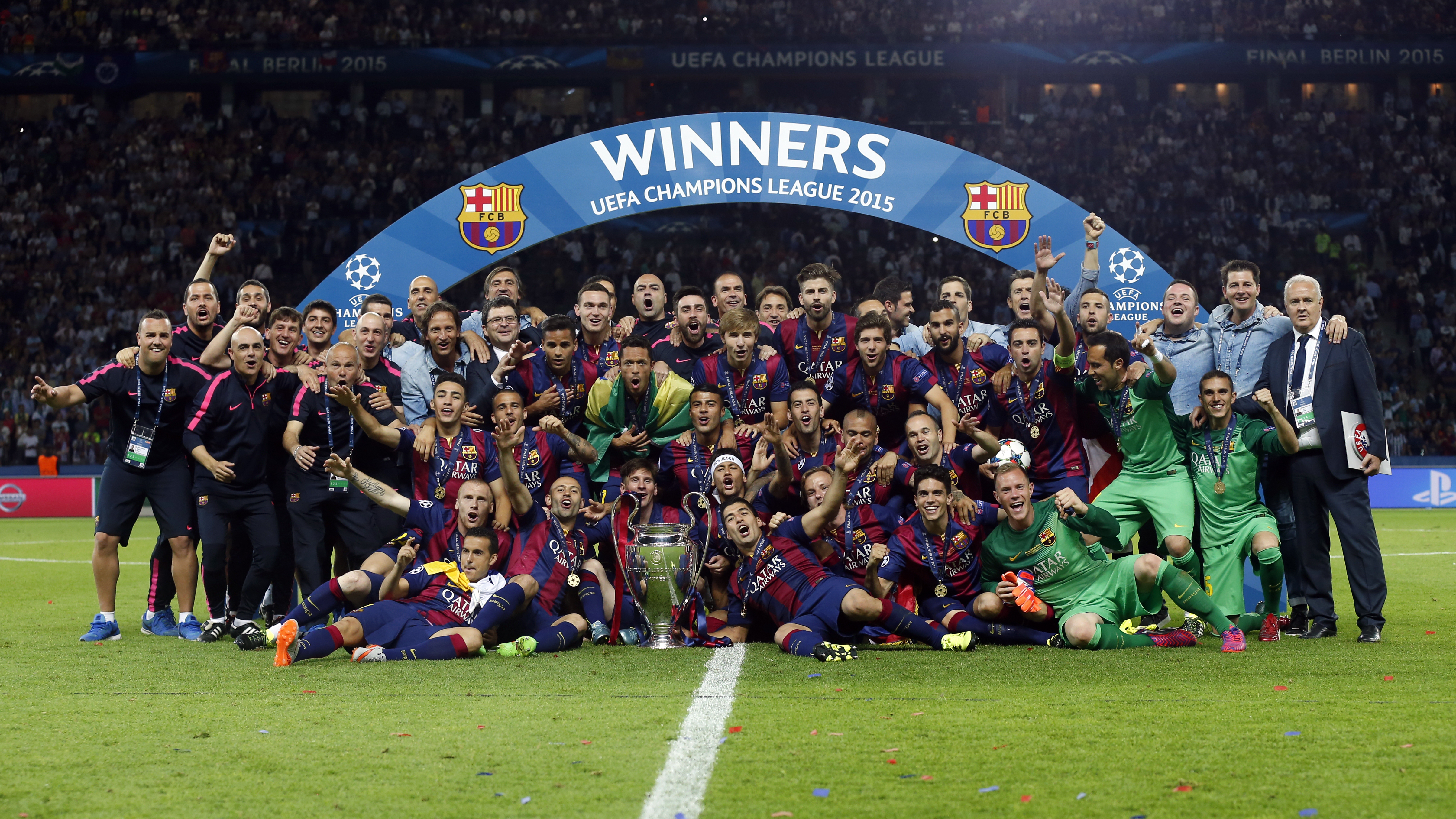 FC Barcelona will be honoured by UEFA for their five ...
