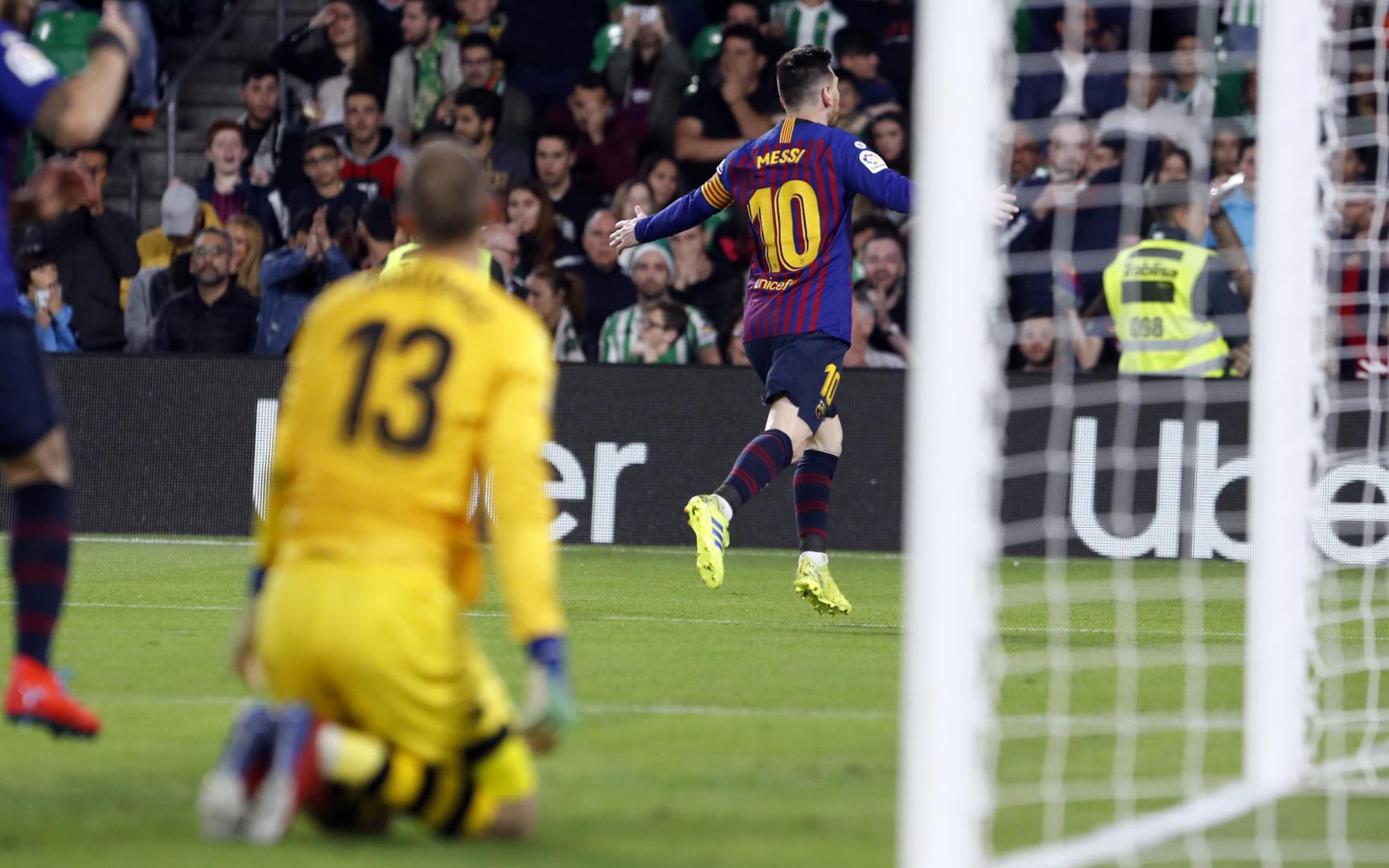 The Goal From Messi That Delighted The Benito Villamarin