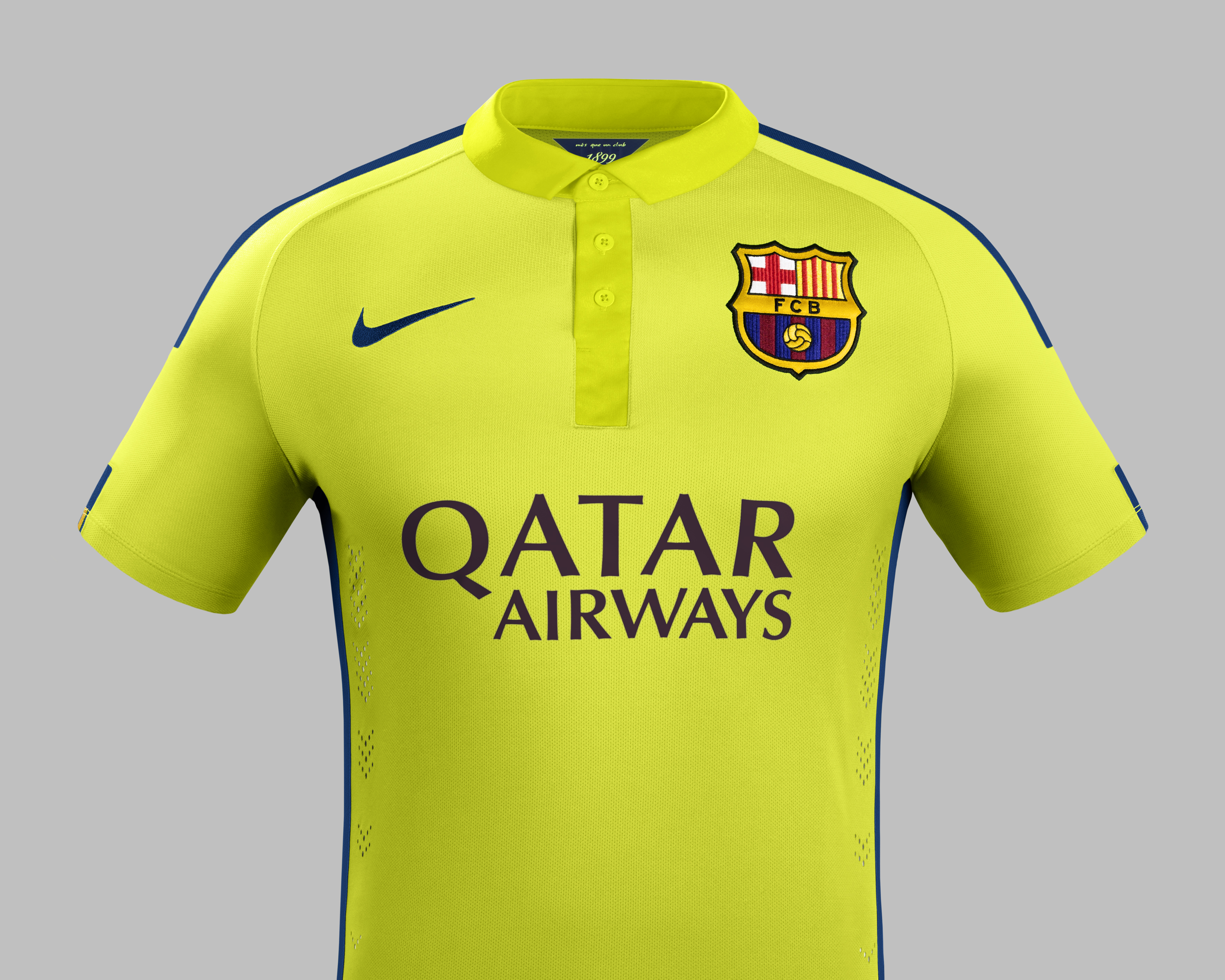 New Fc Barcelona Third Strip Features Two Shades Of Yellow