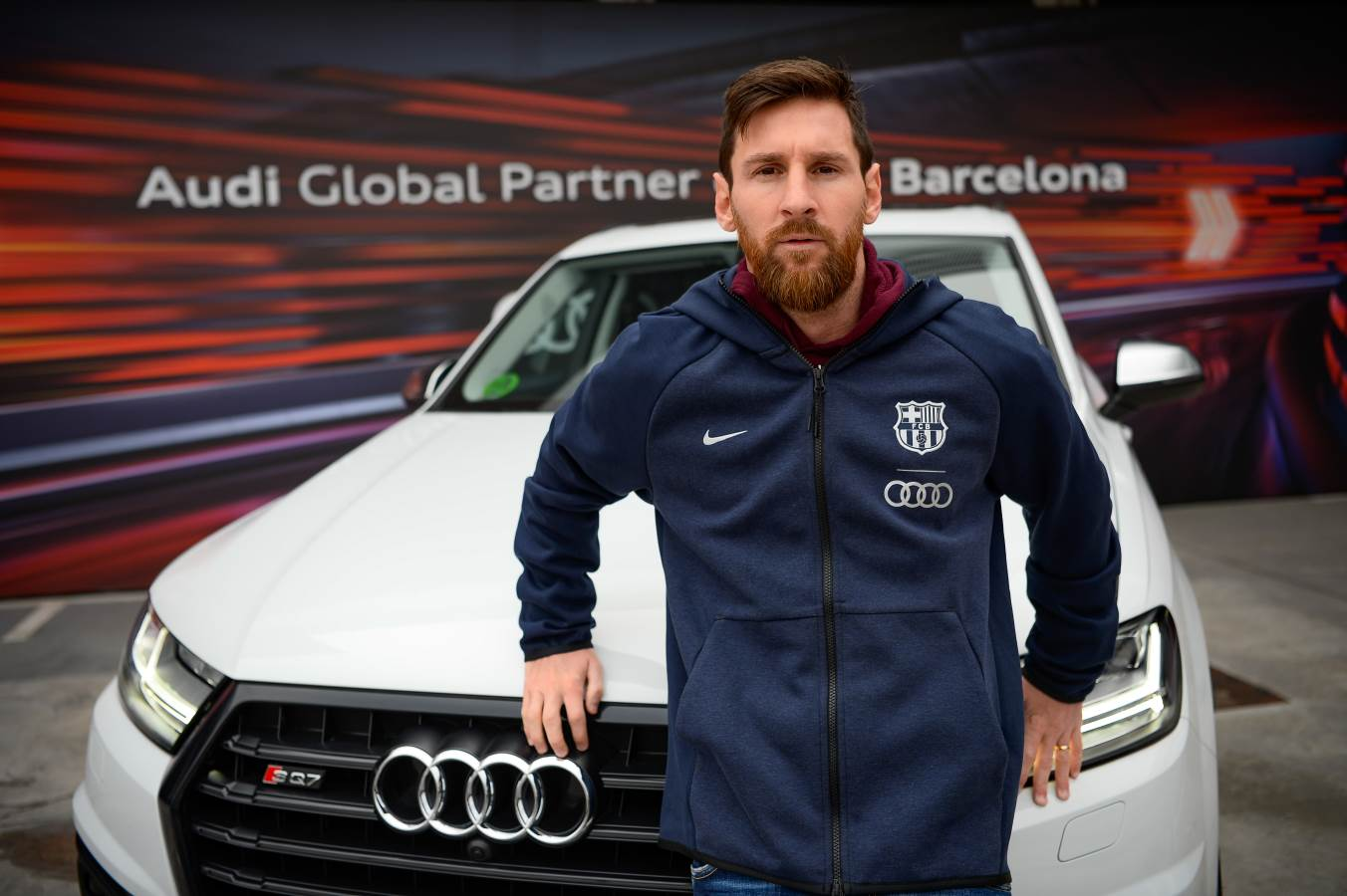Barca Stars Receive Their Audi Cars