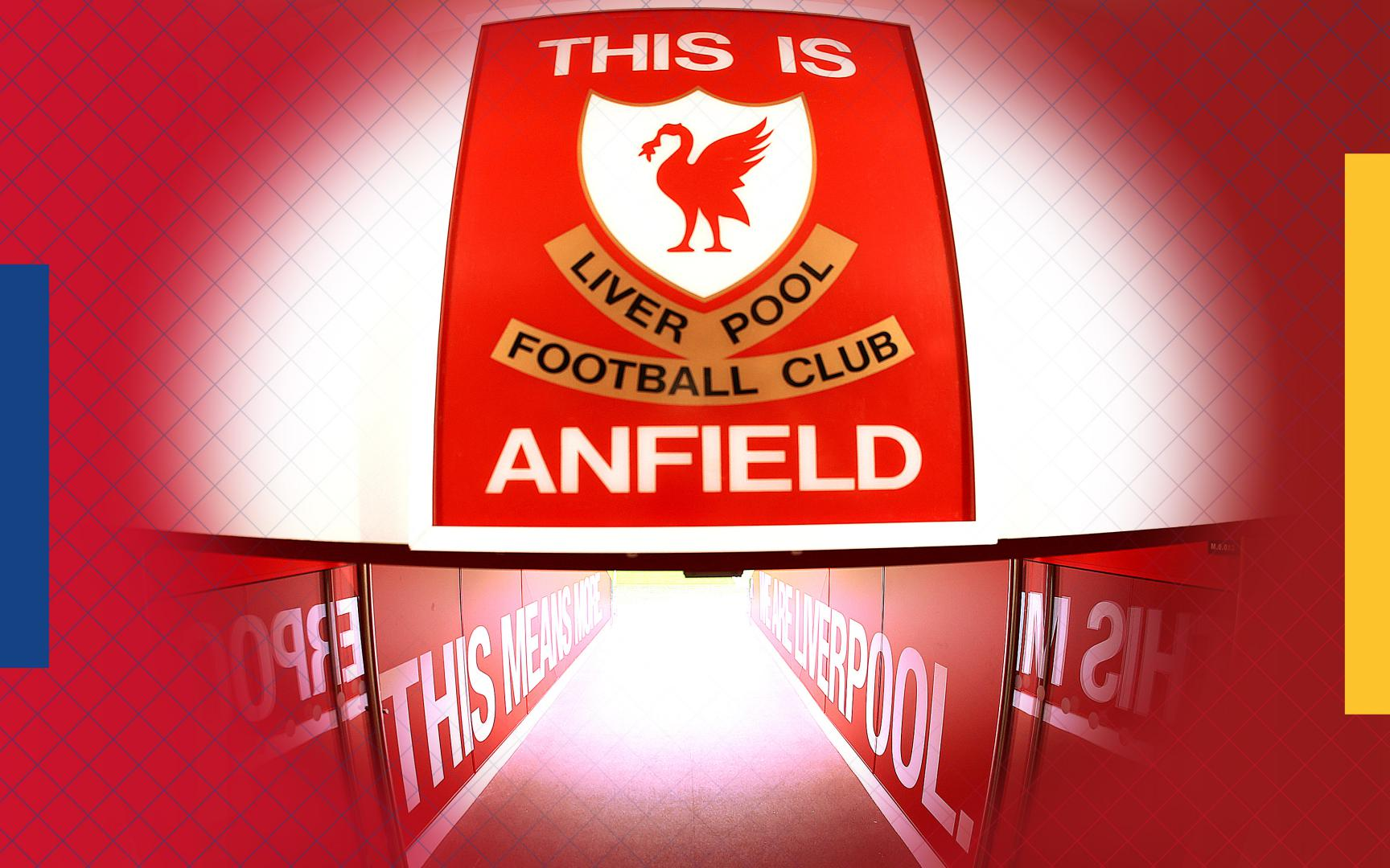 This is Anfield Sign Official Merchandise Liverpool F.C