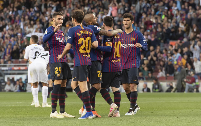 FC Barcelona 2-0 Getafe