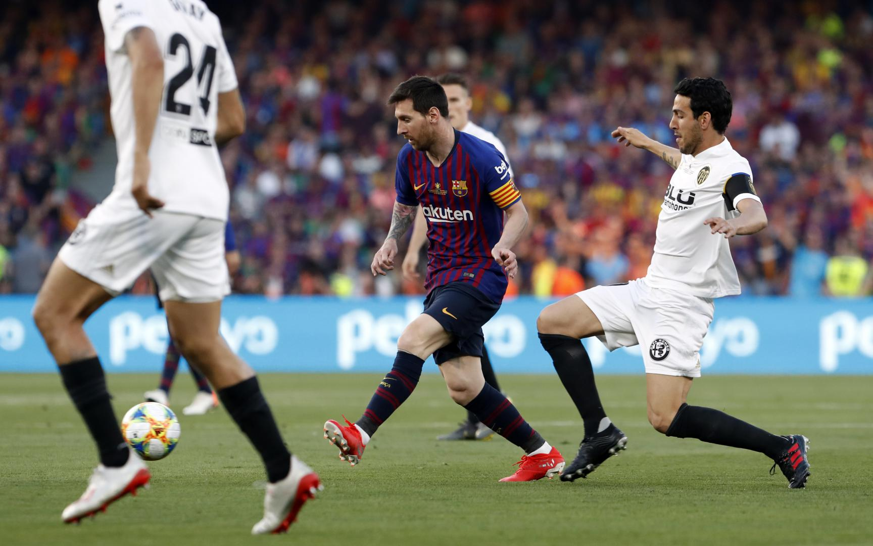 Valencia Gegen Barcelona