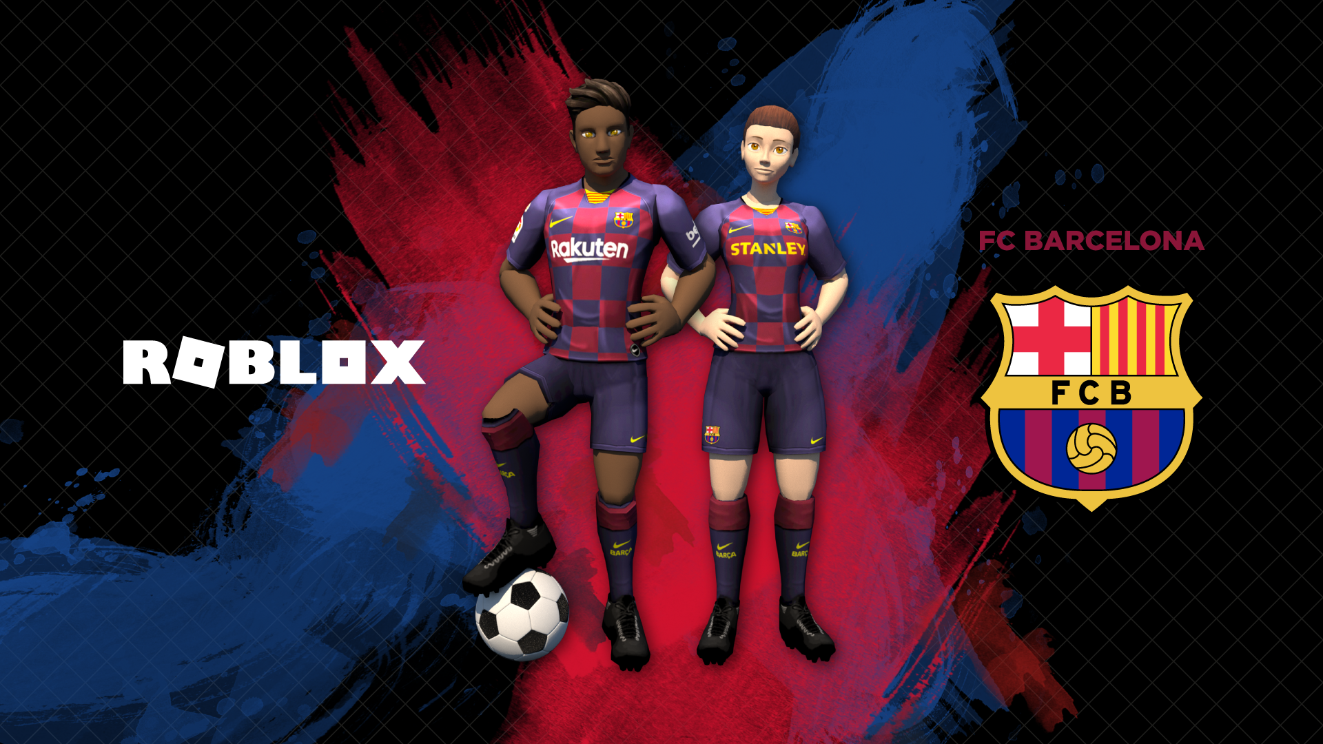 Roblox Players Pictures Girls Barca And Roblox Join Forces To Bring More Than 90 Million