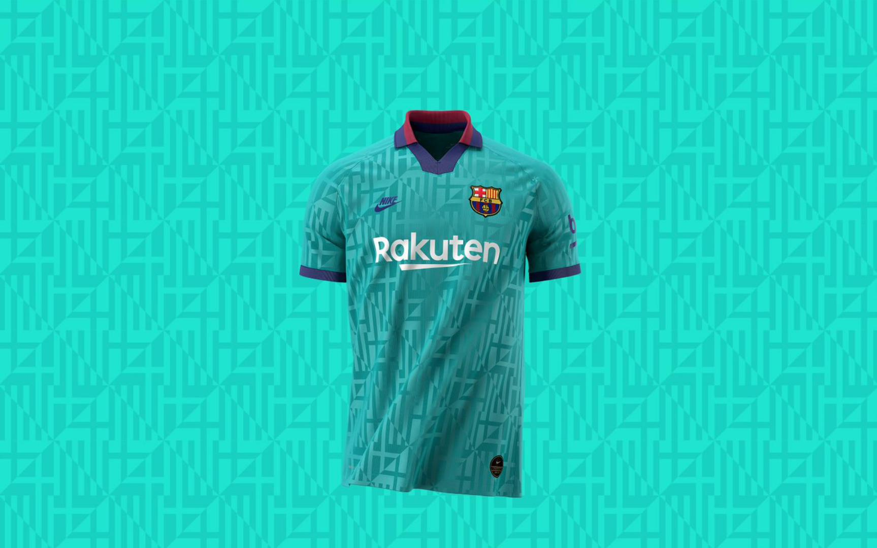 Pride In Barcelona Inspires The Design For Barca S Third Kit This Season