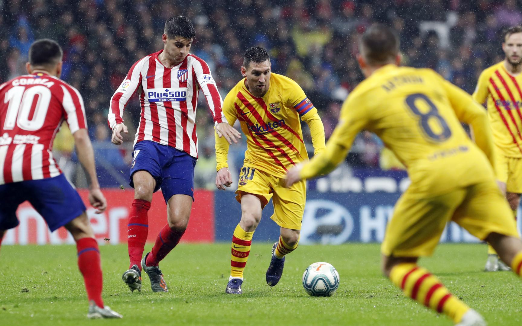 Atl tico Madrid FC Barcelone match Complet