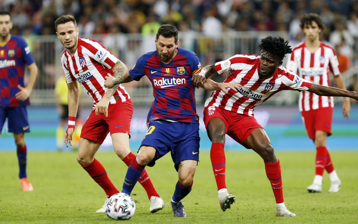 Barca 2 3 Atletico Madrid Late Drama Ends Super Cup Hopes