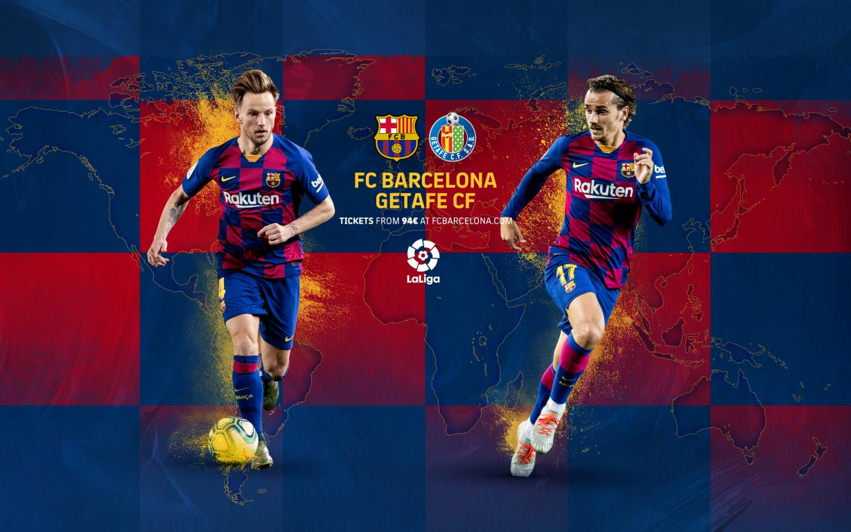 When and where to watch Barça-Getafe