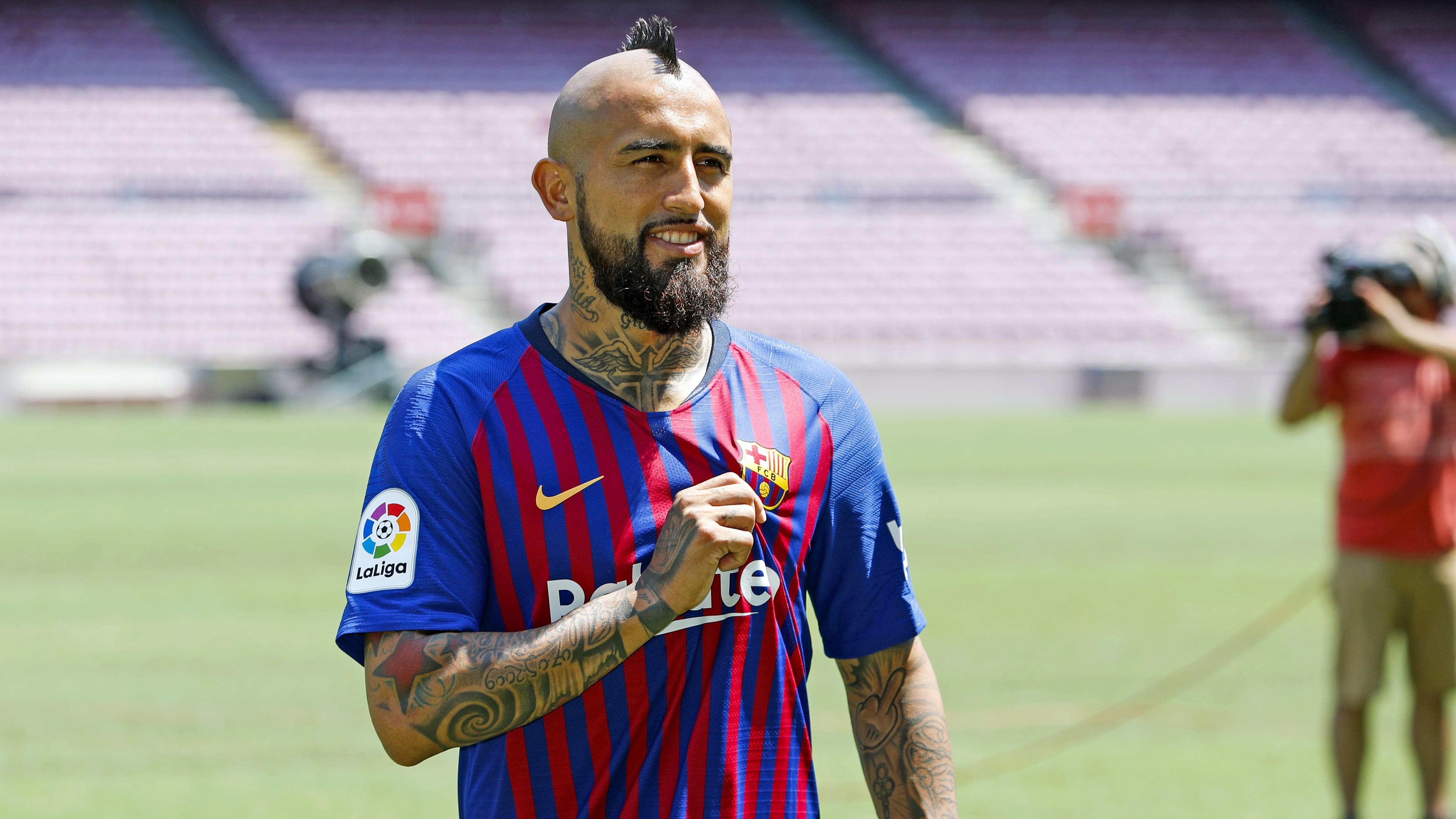 Arturo Vidal's first 24 hours in Barcelona