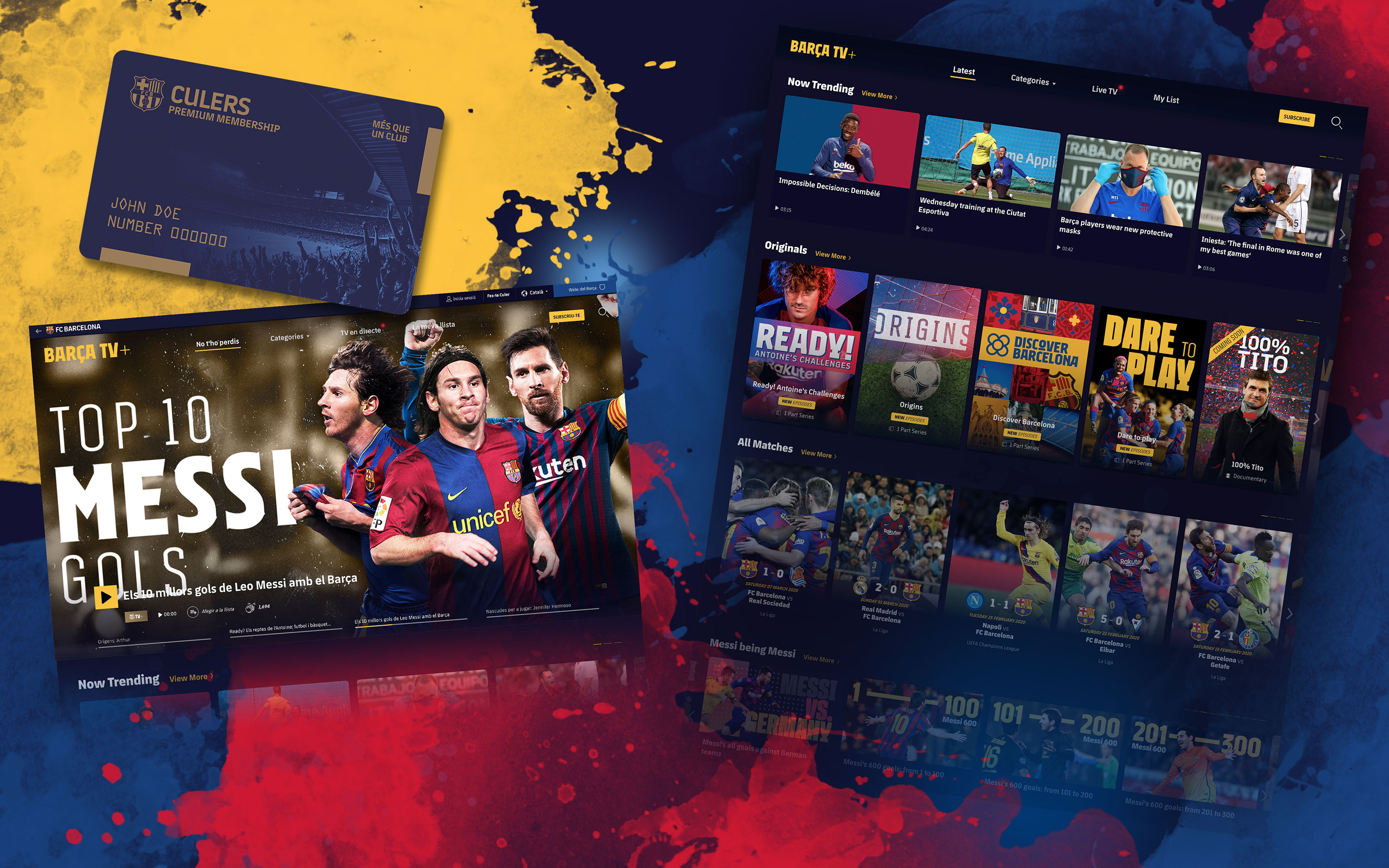 FC Barcelona launch 'BARÇA TV+' streaming service with more than 3,000 videos and 1,000 hours of content