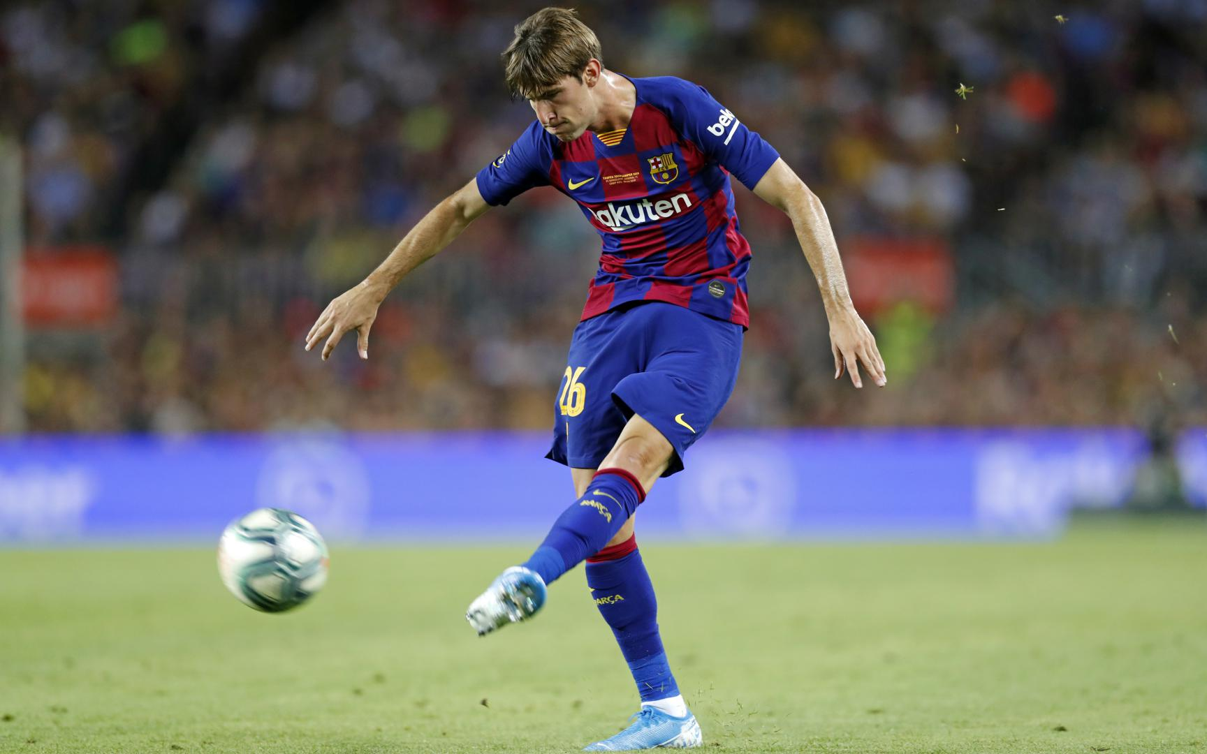 Juan Miranda trở lại Barça