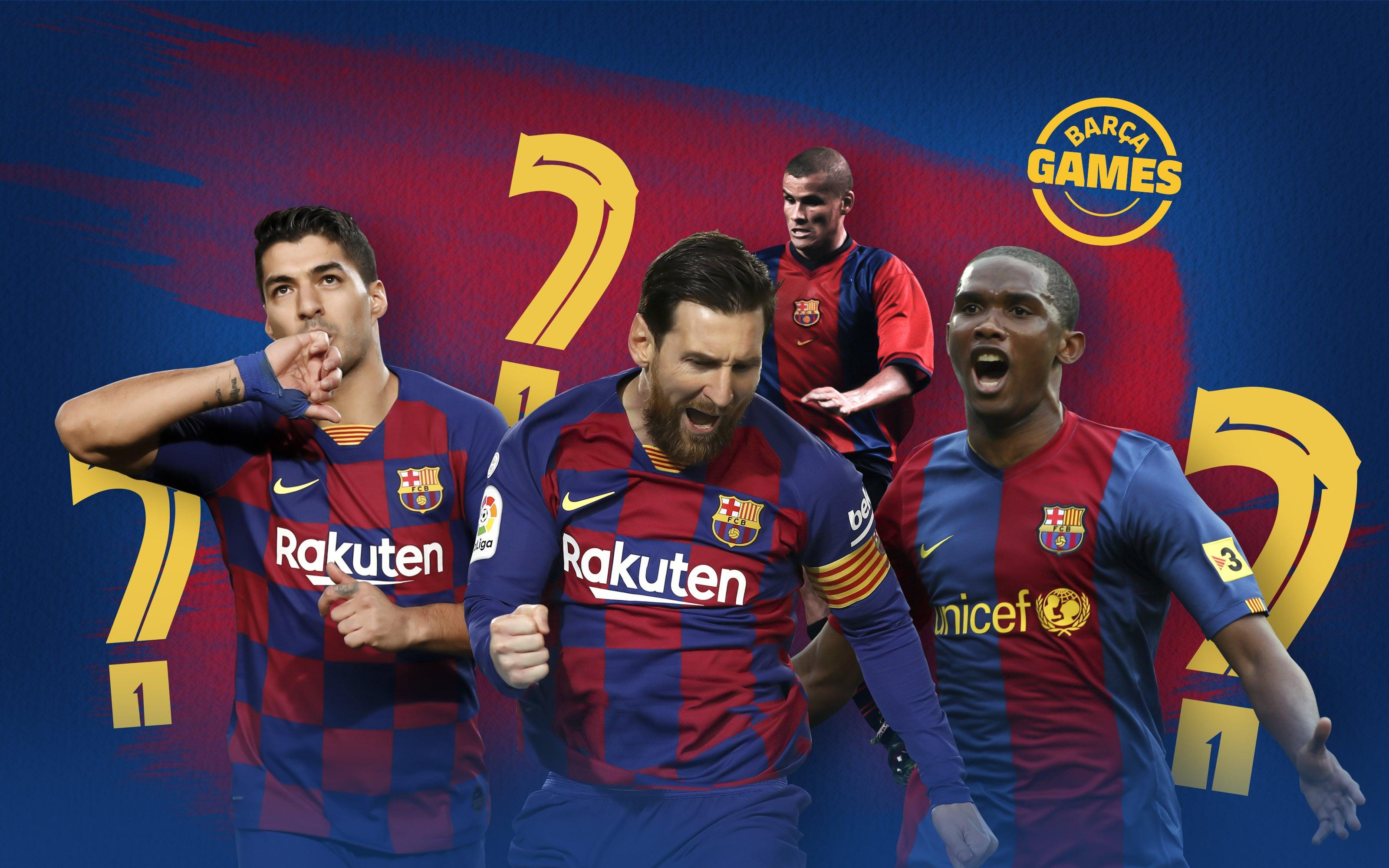 Bạn có biết thứ tự các chân sút huyền thoại của Barça?
