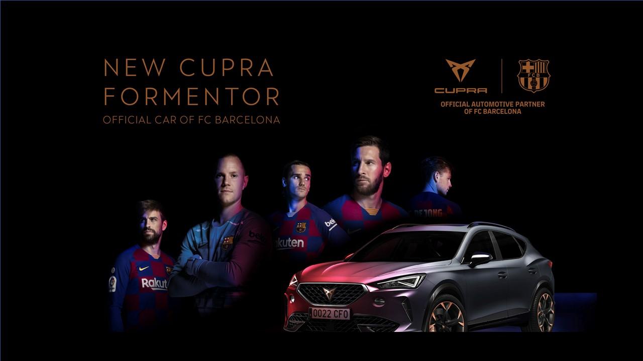 CUPRA là hãng xe đại diện của FC Barcelona