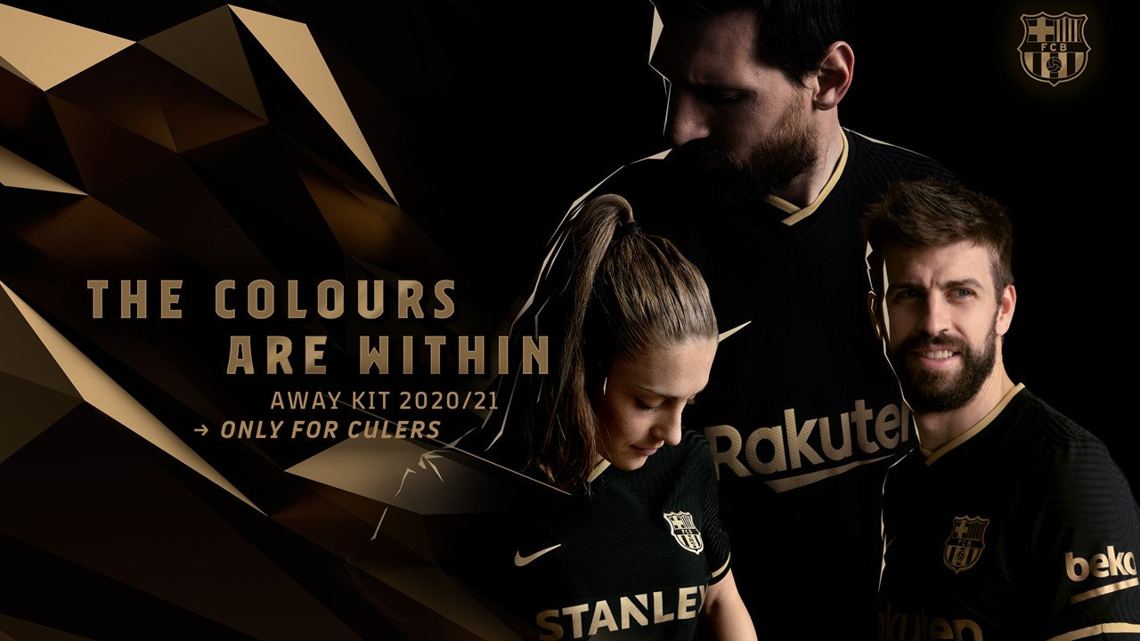 barca unveil black and gold away kit barca unveil black and gold away kit