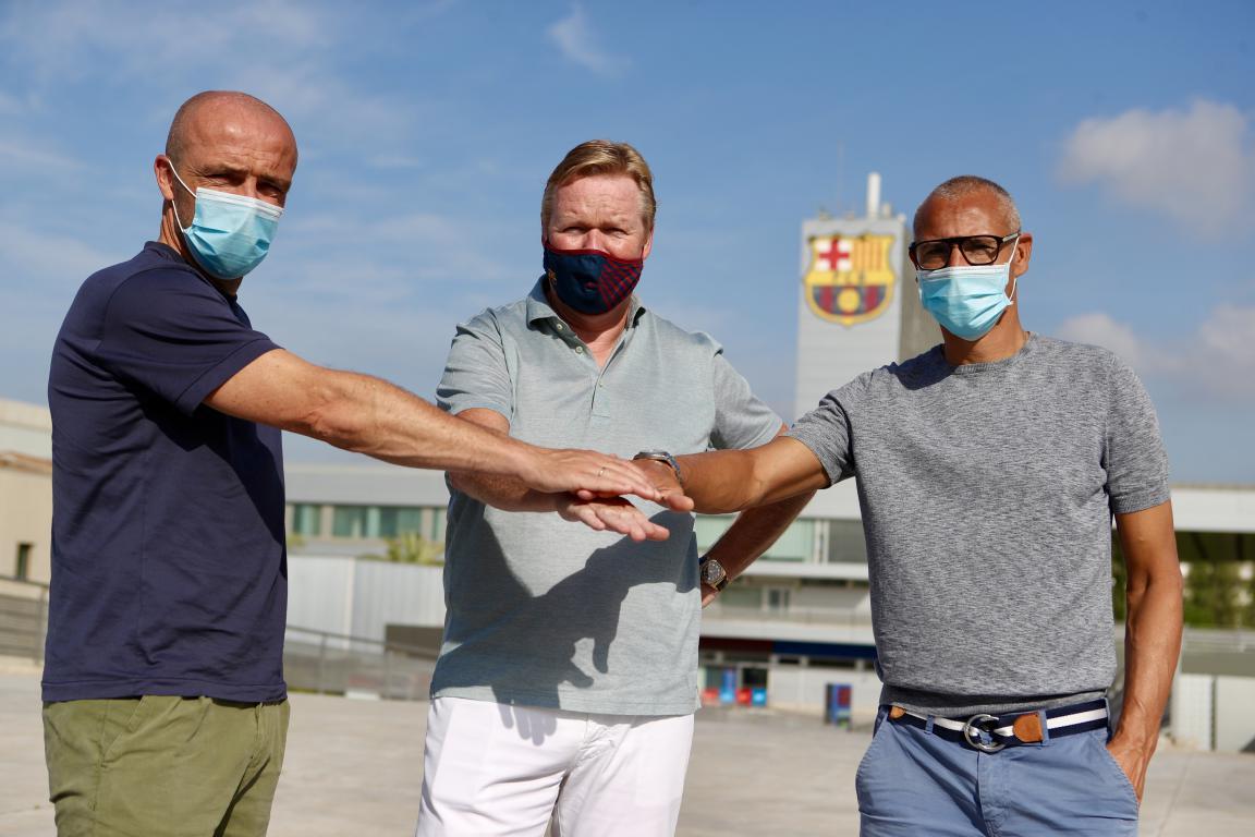 Schreuder và Larsson sát cánh cùng Koeman