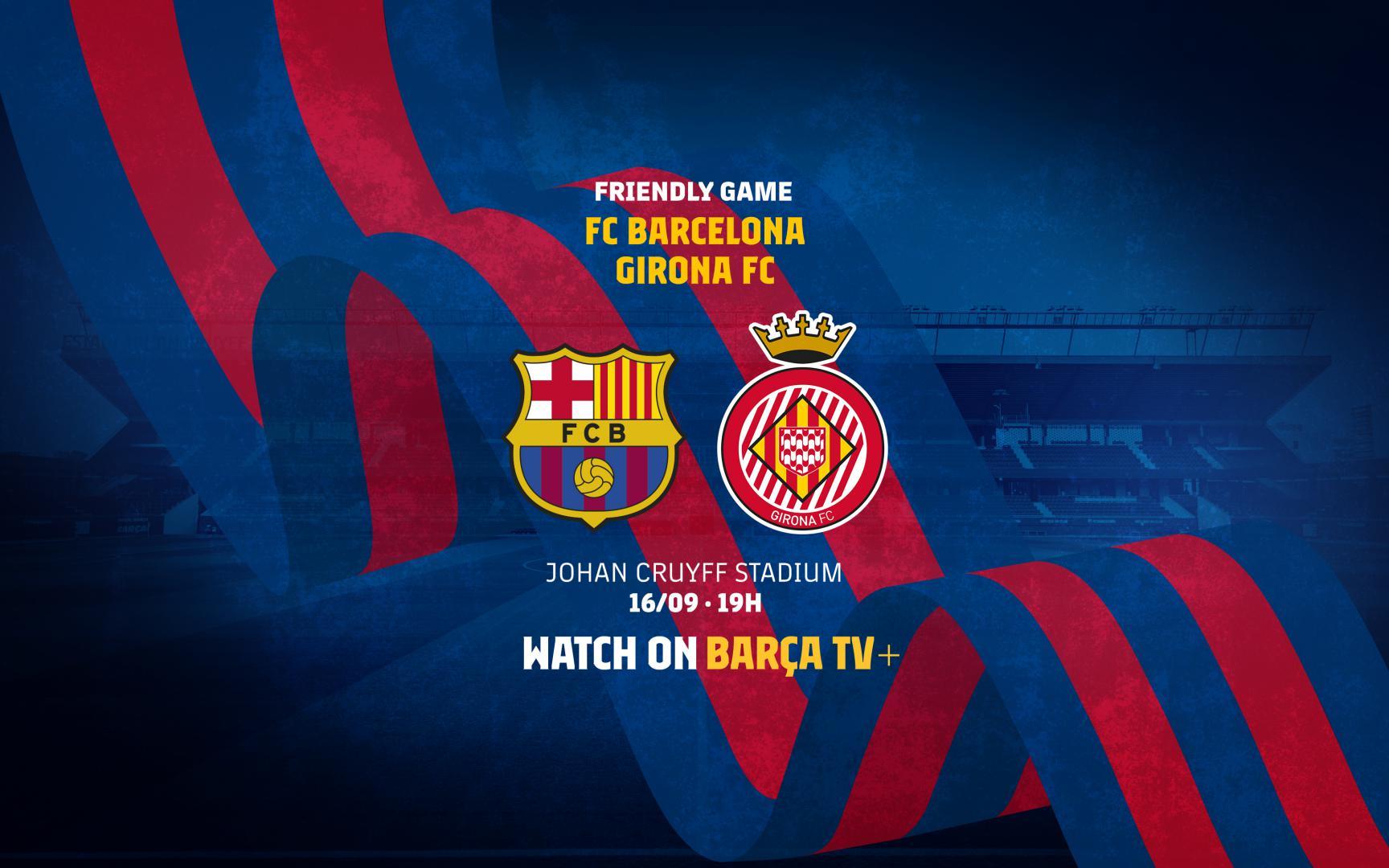 Girona Friendly On September 16