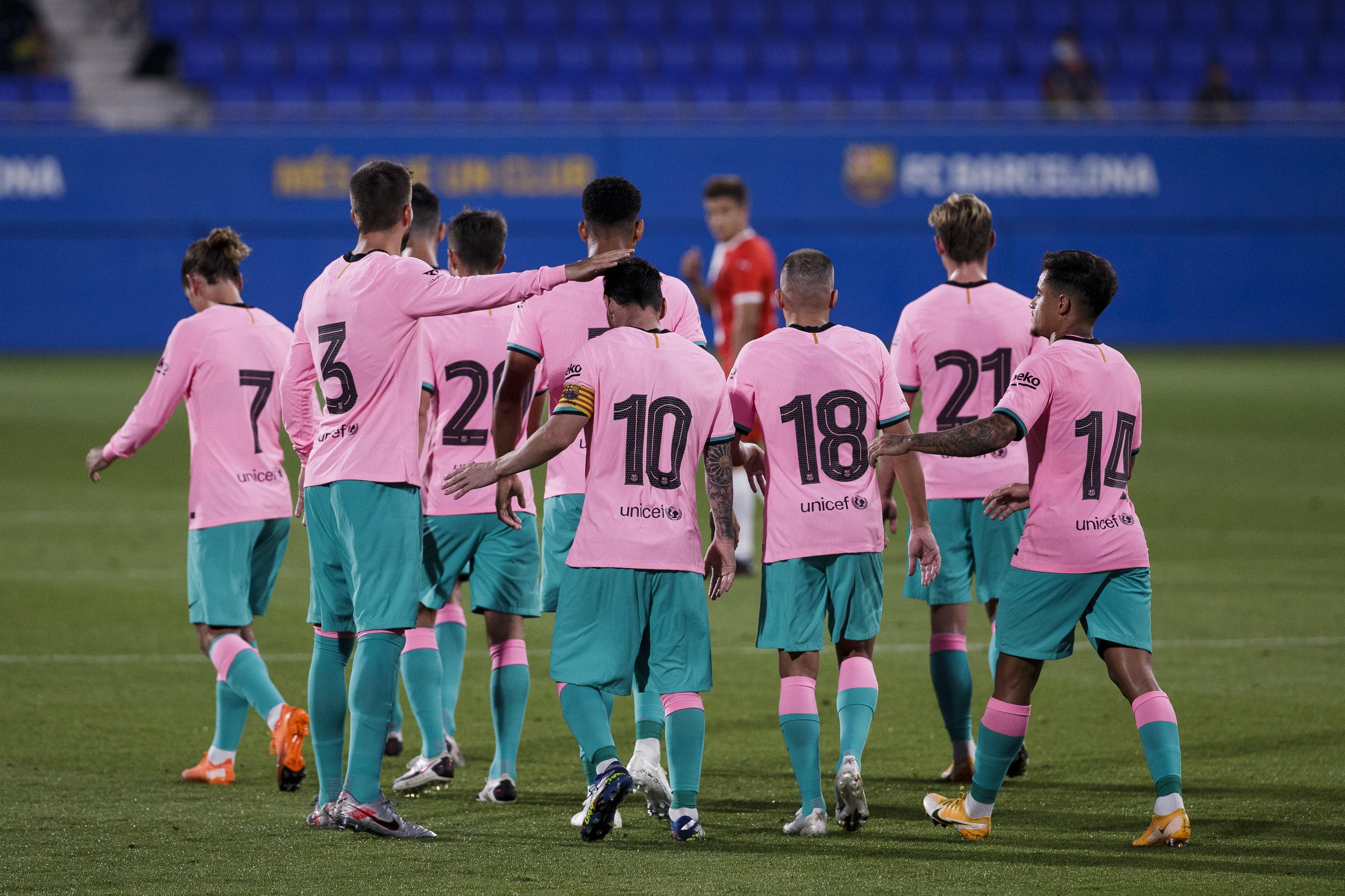 Fc Barcelona 3 Girona 1 Tickled Pink