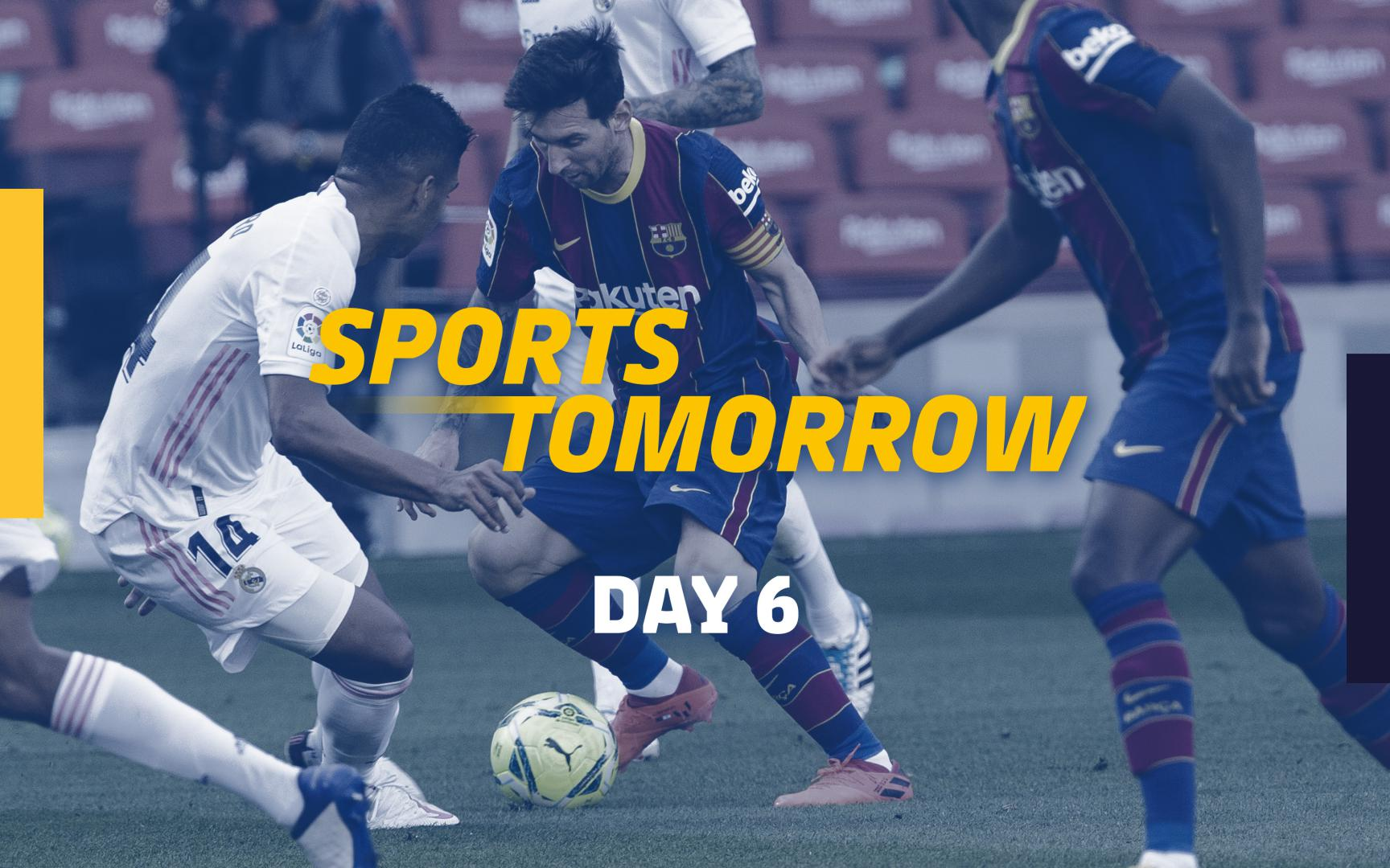 Sports Tomorrow Day 6