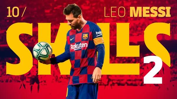 Detalles de calidad de Messi