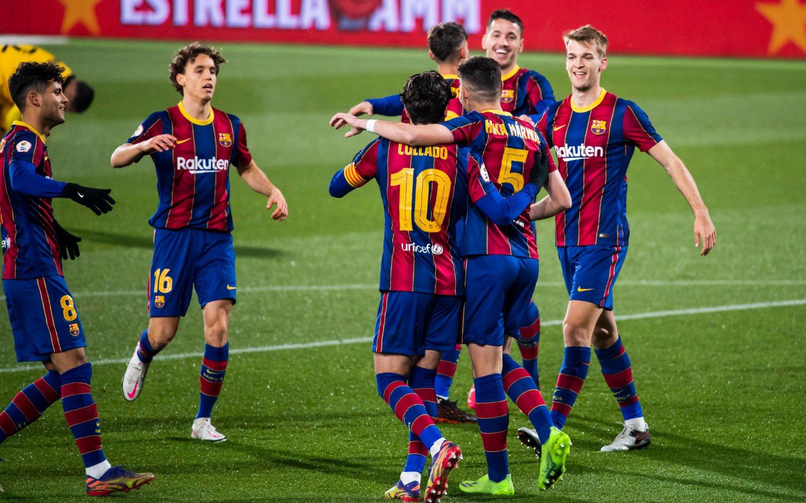 Highlights | Barça B 4 v 0 Badalona