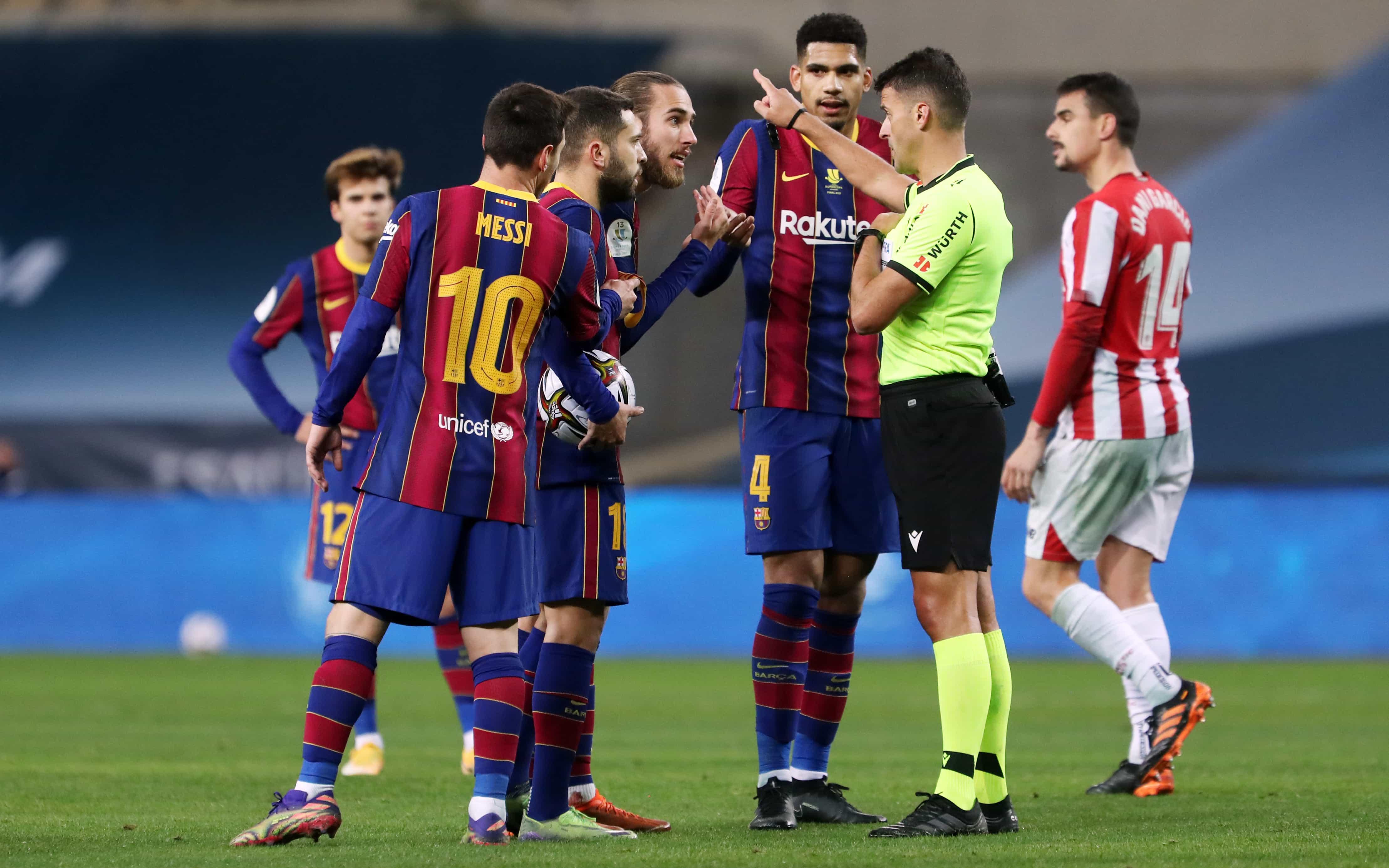 FC Barcelona to appeal Messi suspension - FC Barcelona