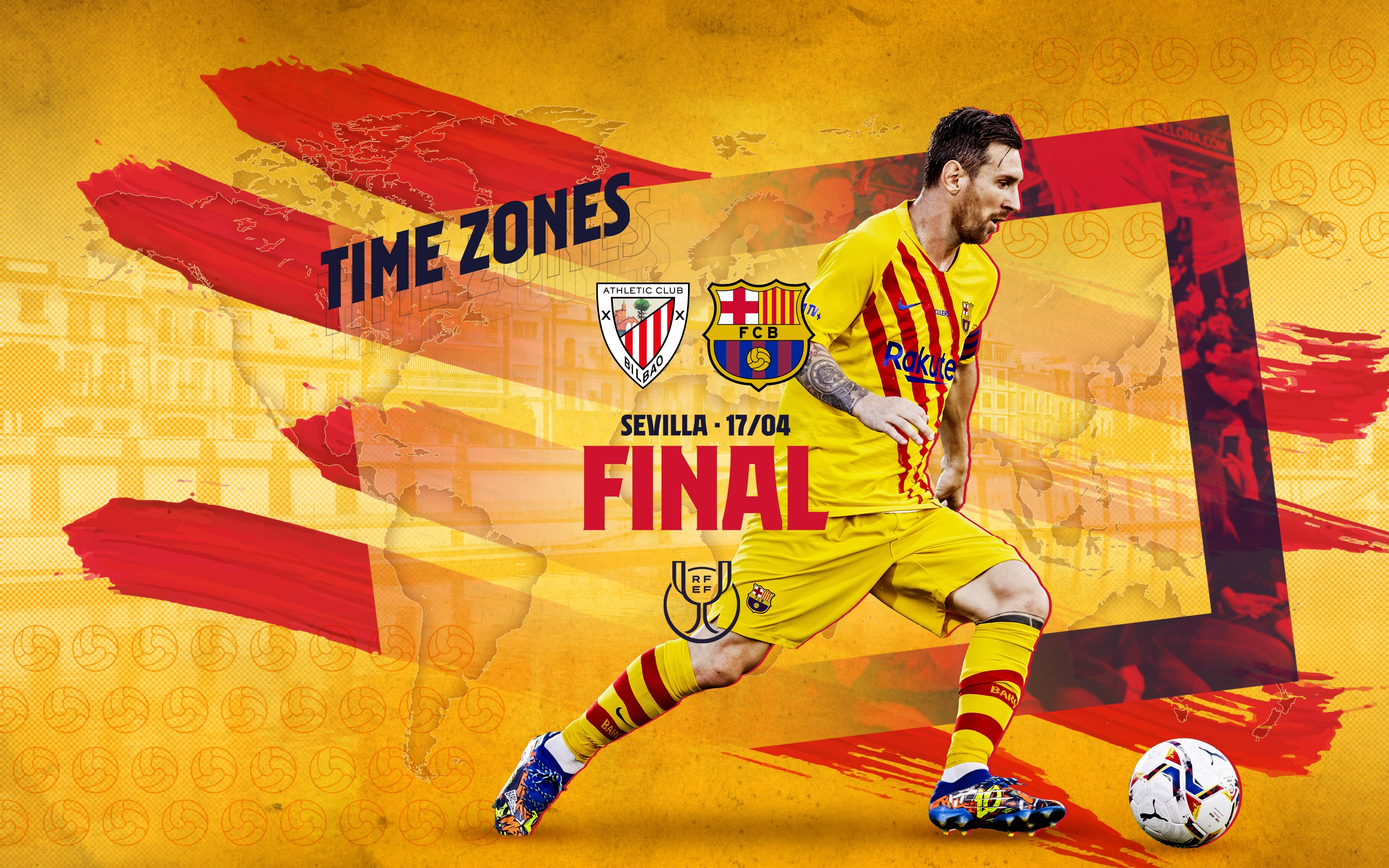 When and where to watch FC Barcelona v Athletic Club in the Copa Del Rey final
